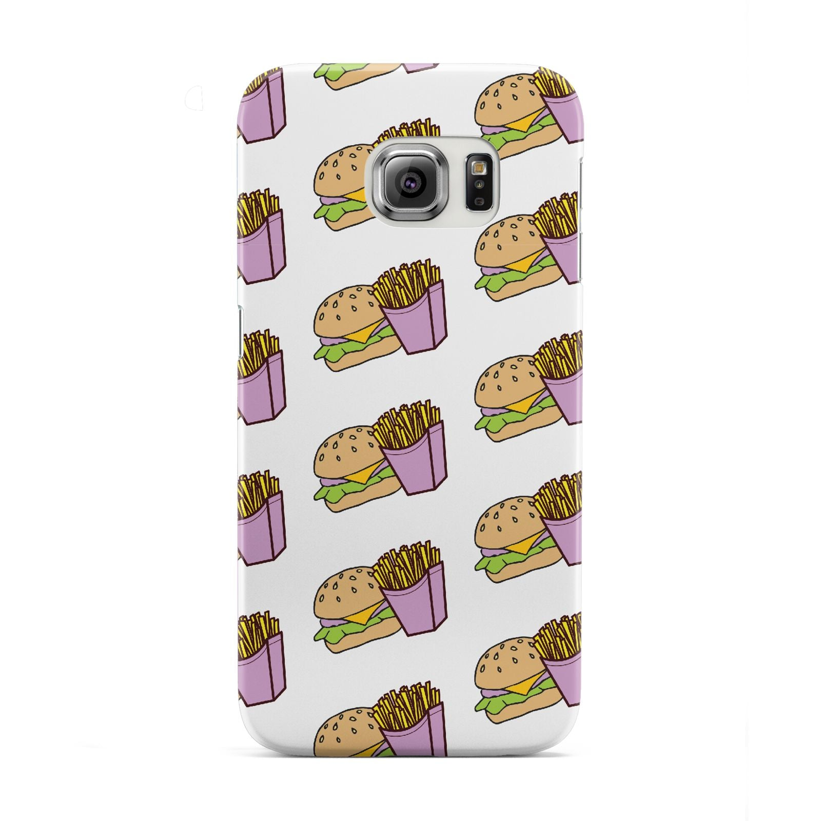 Burger Fries Fast Food Samsung Galaxy S6 Edge Case