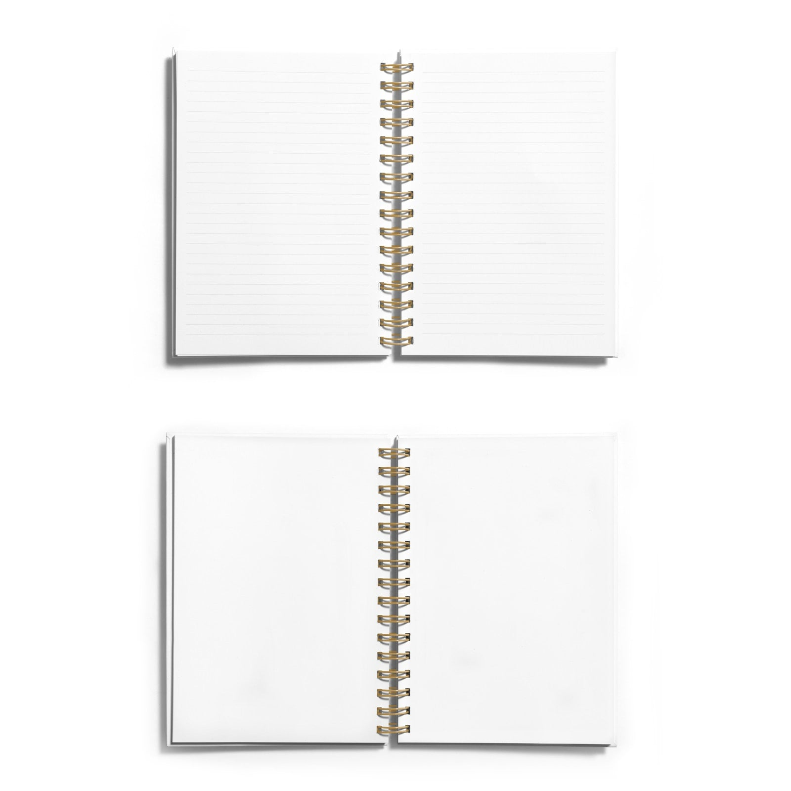 Personalised Copper Foil Wedding Planner Notebook Choice of Paper