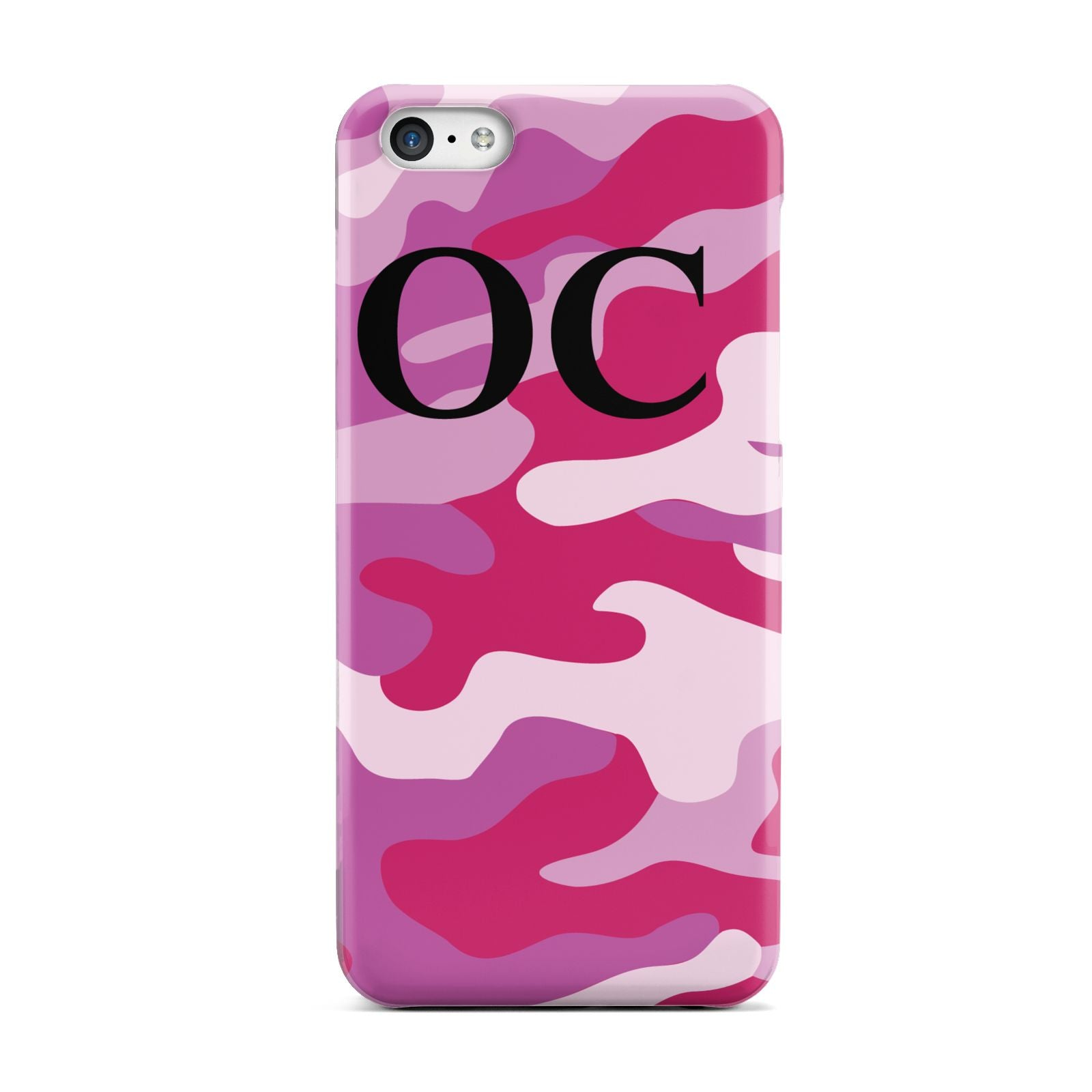 Camouflage Personalised Apple iPhone 5c Case