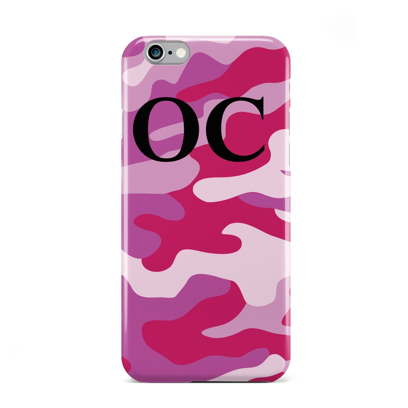 Camouflage Personalised Apple iPhone 6 Case