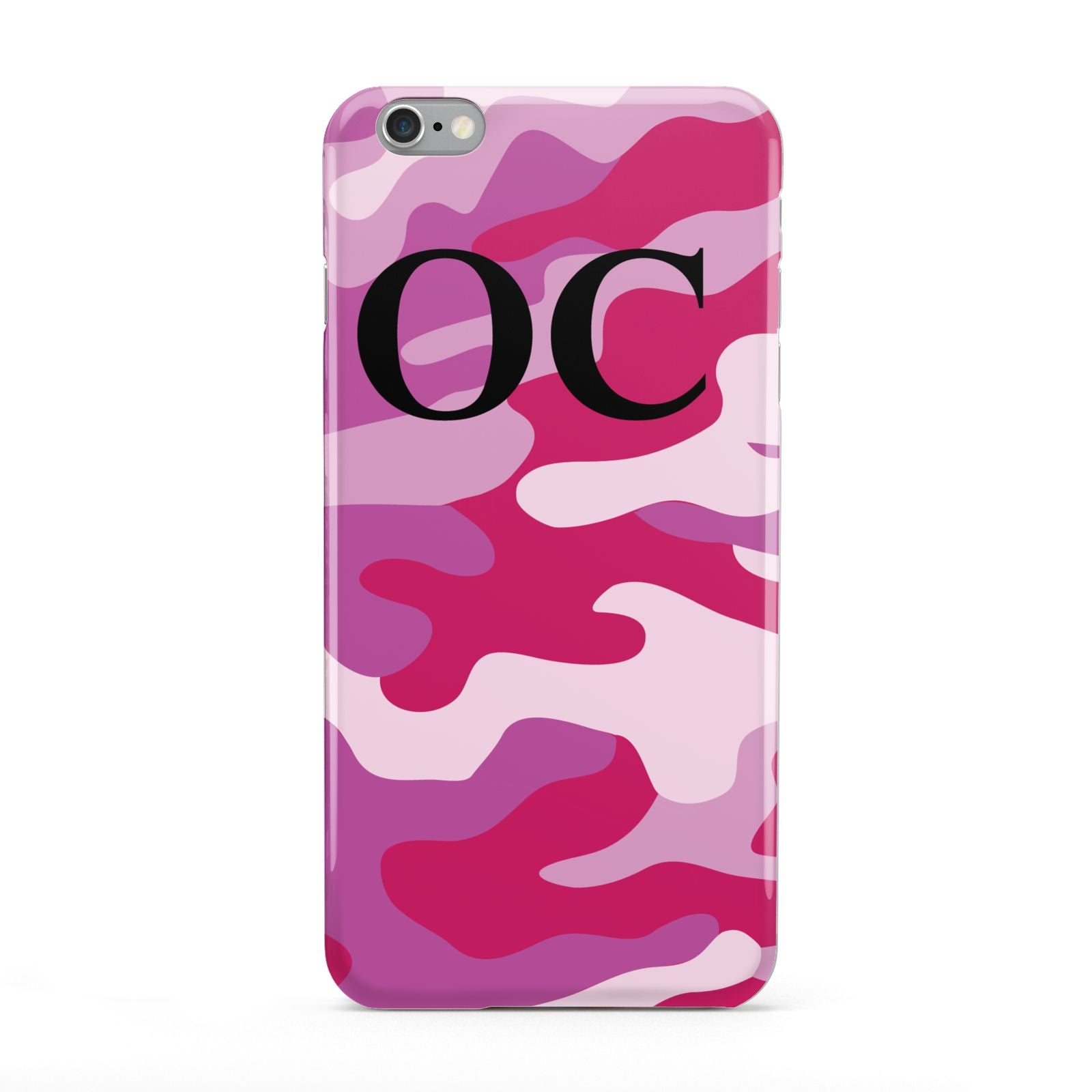 Camouflage Personalised Apple iPhone 6 Plus Case