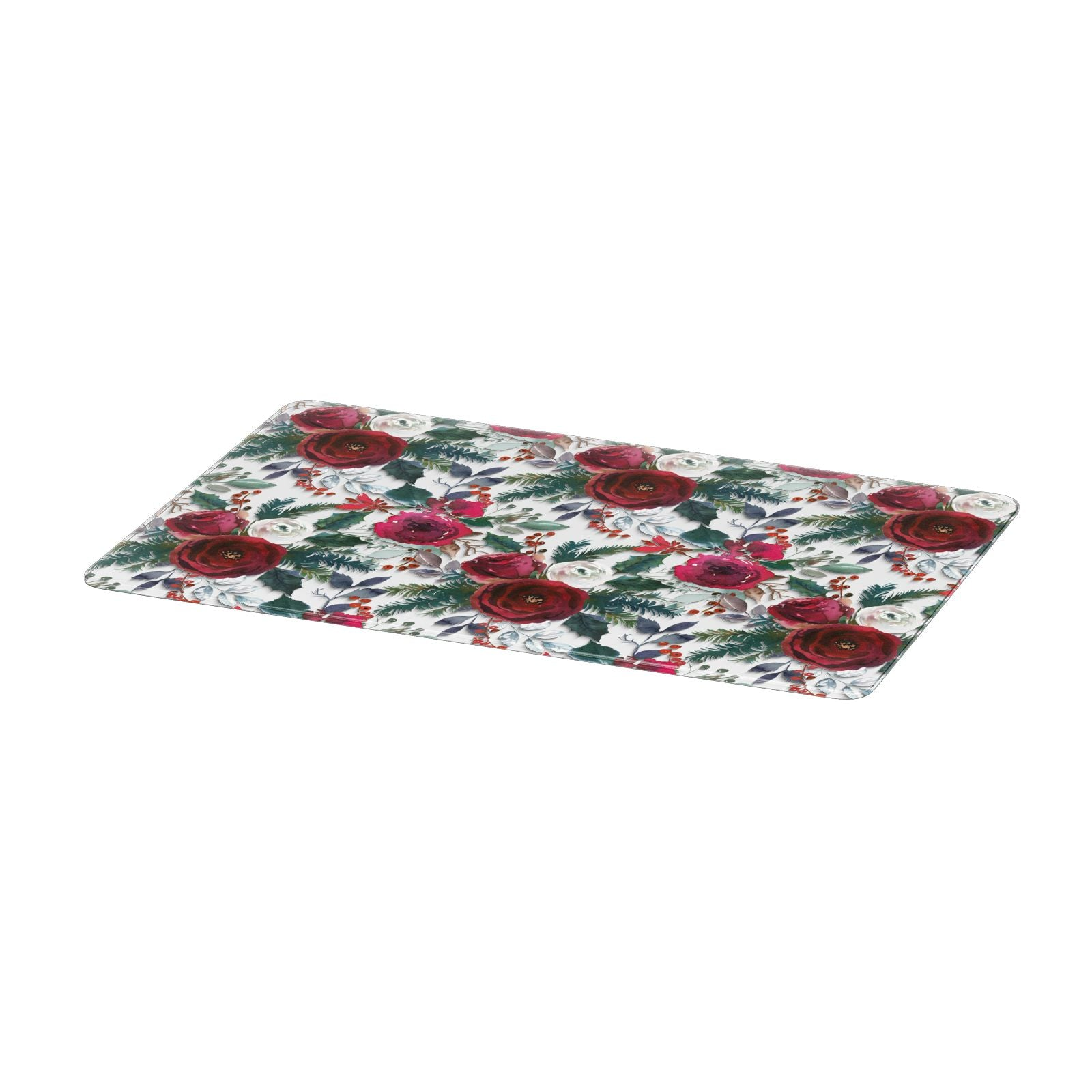 Christmas Floral Pattern Apple MacBook Case Only