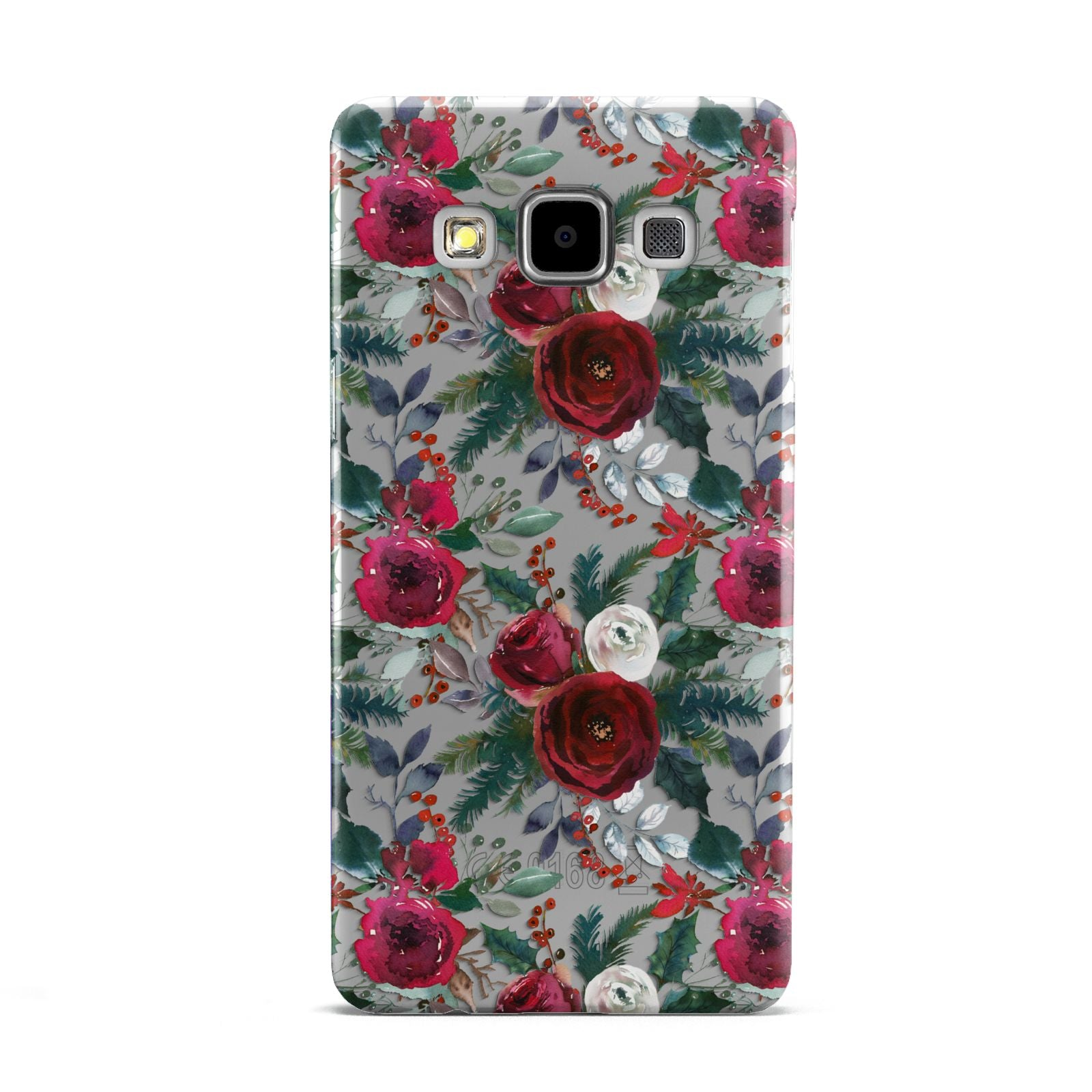 Christmas Floral Pattern Samsung Galaxy A5 Case