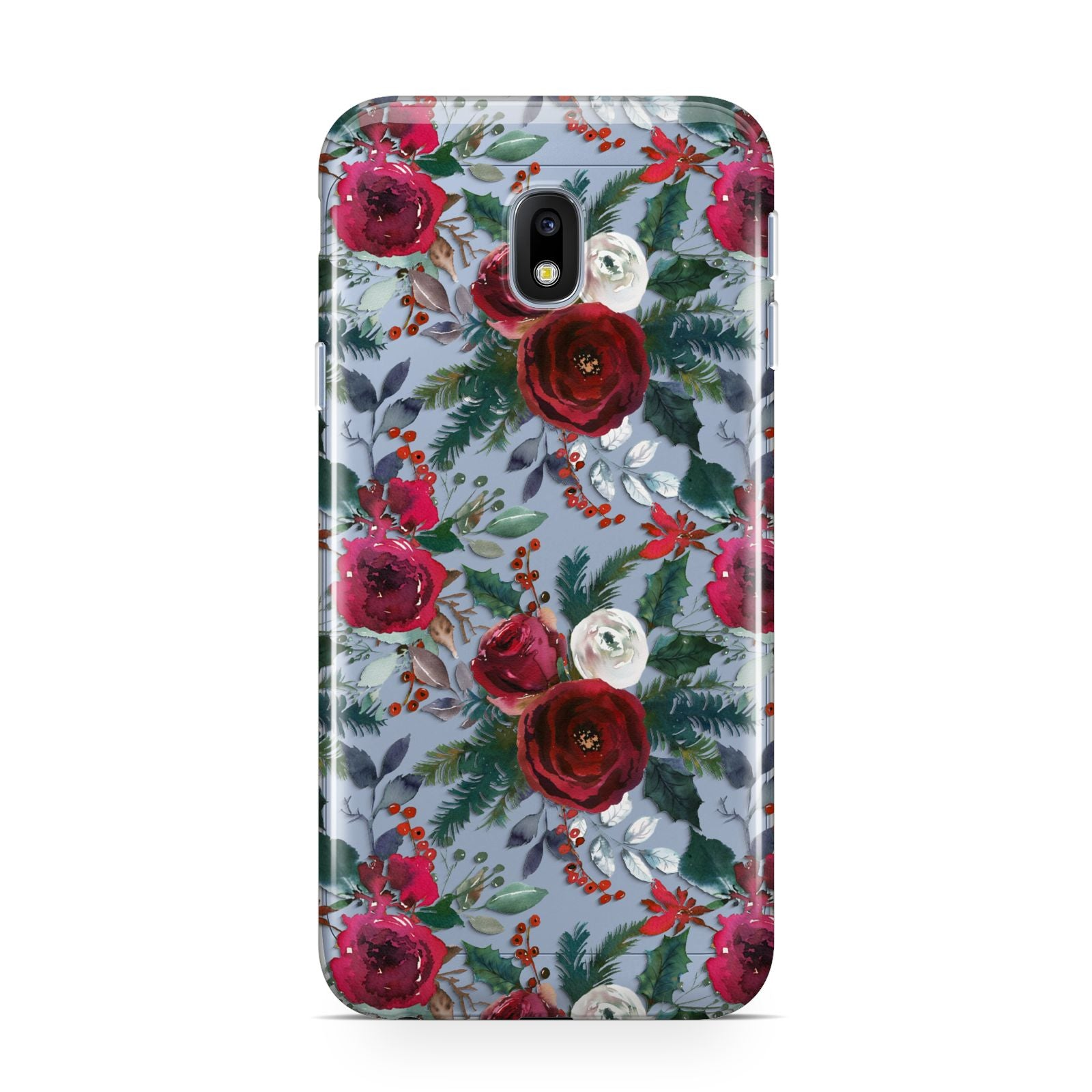 Christmas Floral Pattern Samsung Galaxy J3 2017 Case