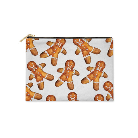 Christmas Gingerbread Man Clutch Bag