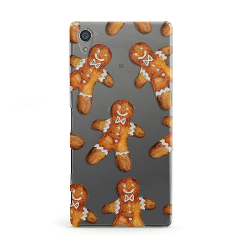 Christmas Gingerbread Man Sony Case