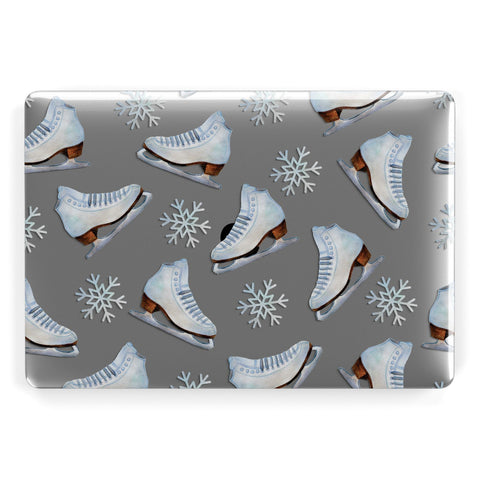 Christmas Ice Skates Macbook Case