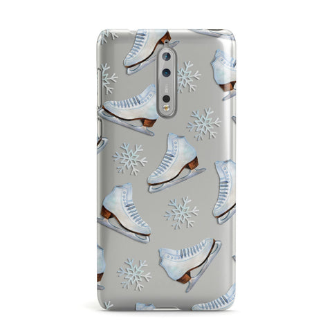 Christmas Ice Skates Nokia Case