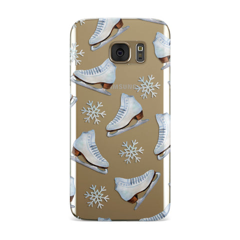 Christmas Ice Skates Samsung Galaxy Case