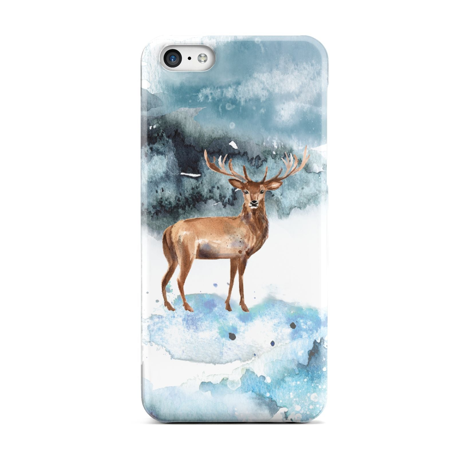 Christmas Winter Stag Apple iPhone 5c Case