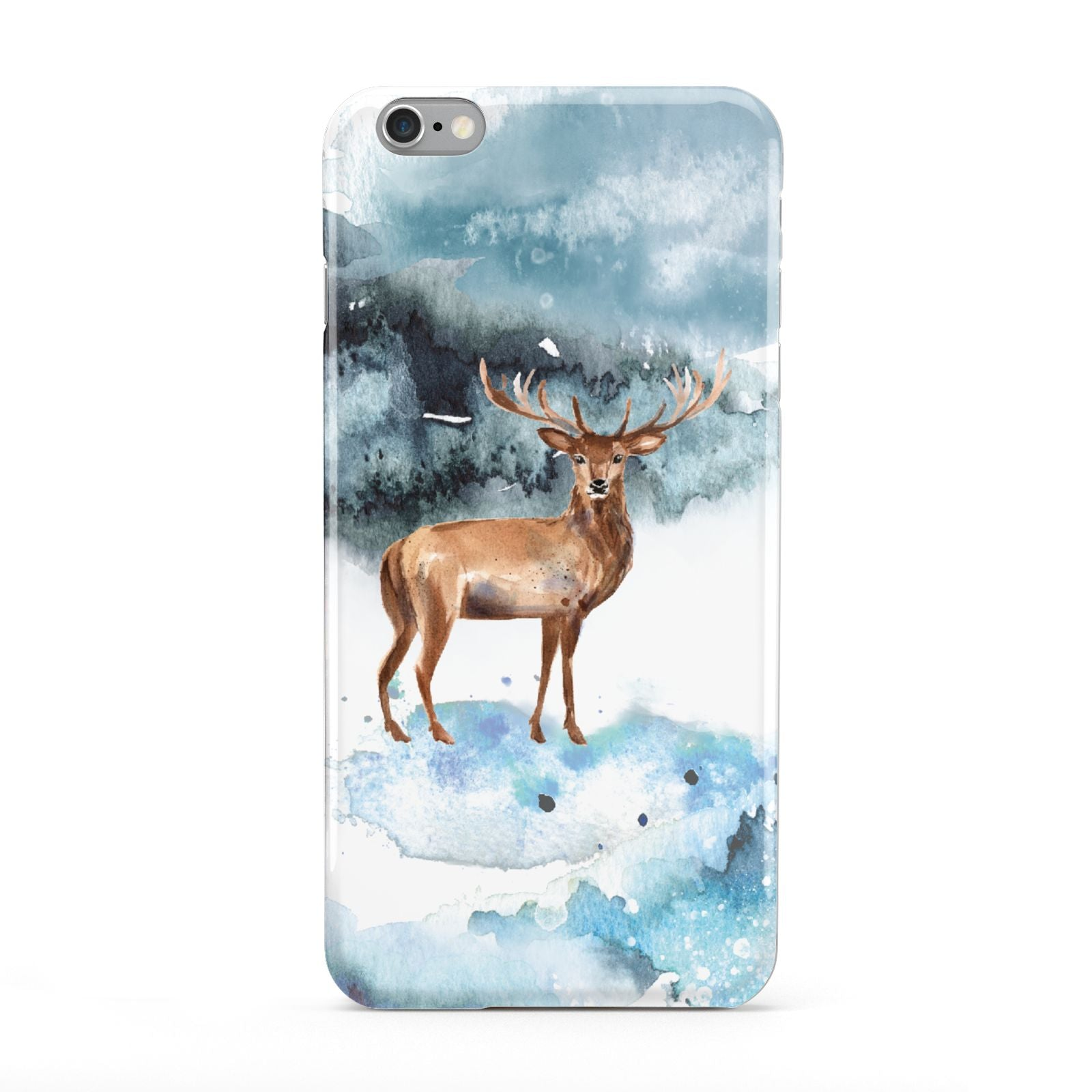 Christmas Winter Stag Apple iPhone 6 Plus Case