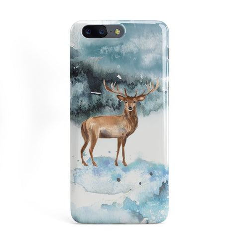 Christmas Winter Stag OnePlus Case
