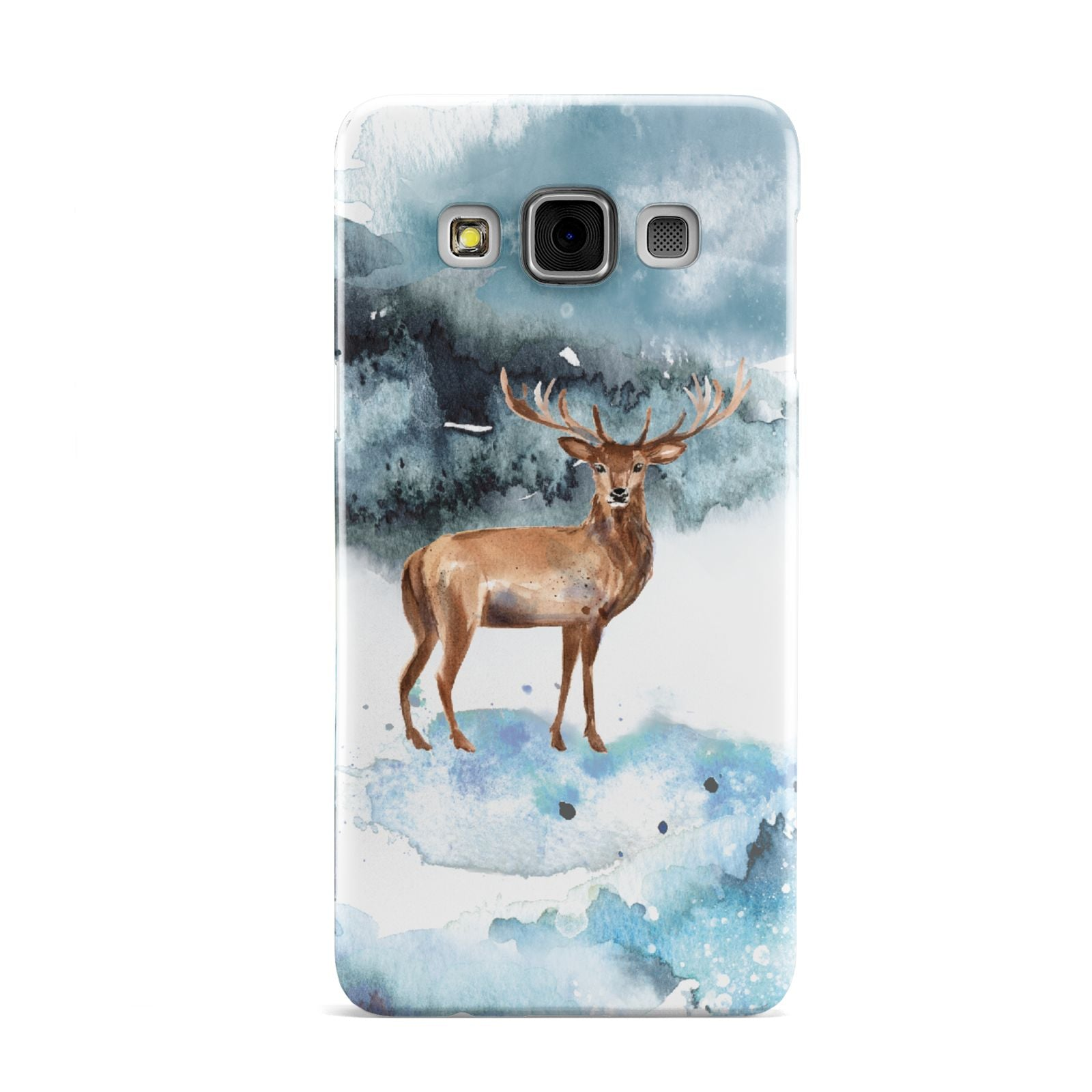 Christmas Winter Stag Samsung Galaxy A3 Case