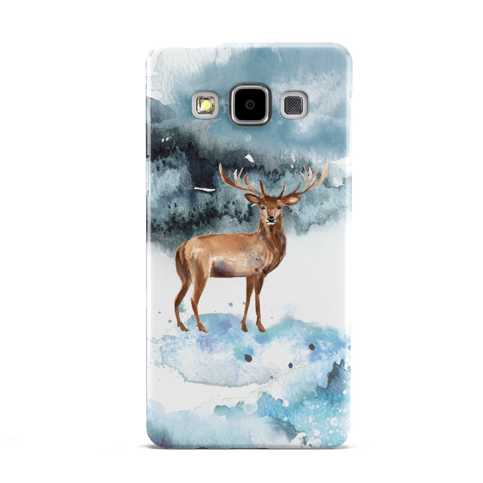 Christmas Winter Stag Samsung Galaxy A5 Case