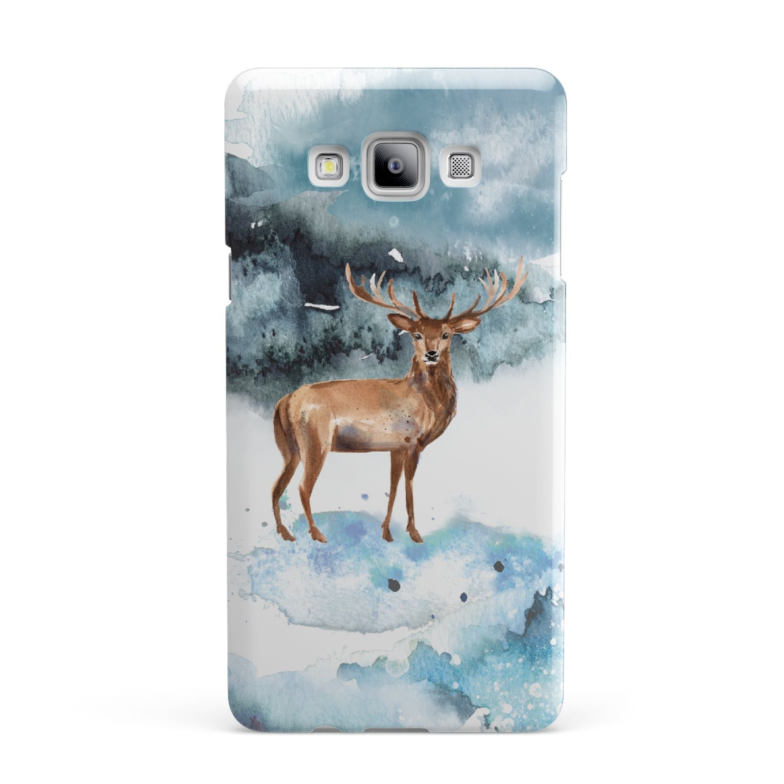 Christmas Winter Stag Samsung Galaxy A7 2015 Case