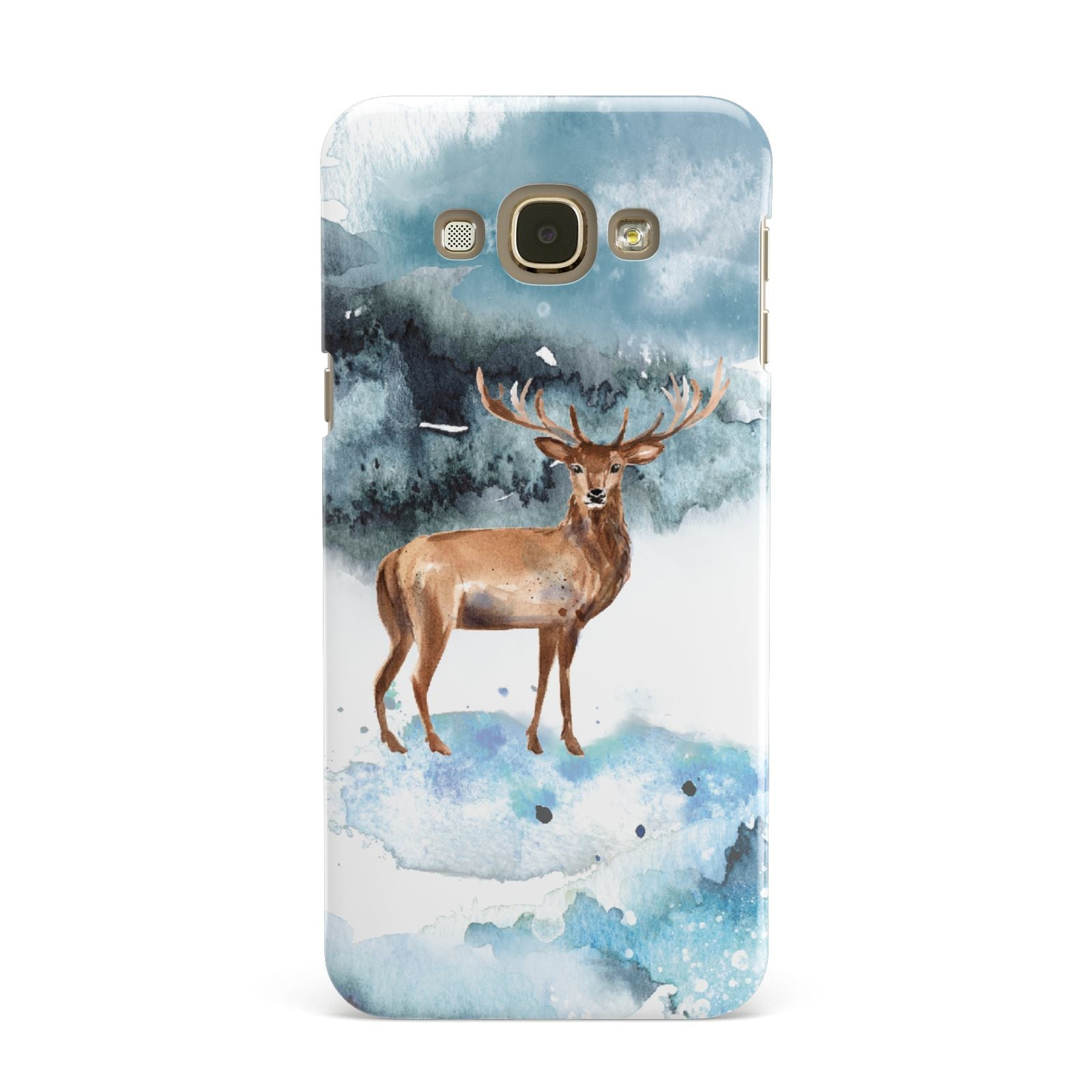 Christmas Winter Stag Samsung Galaxy A8 Case