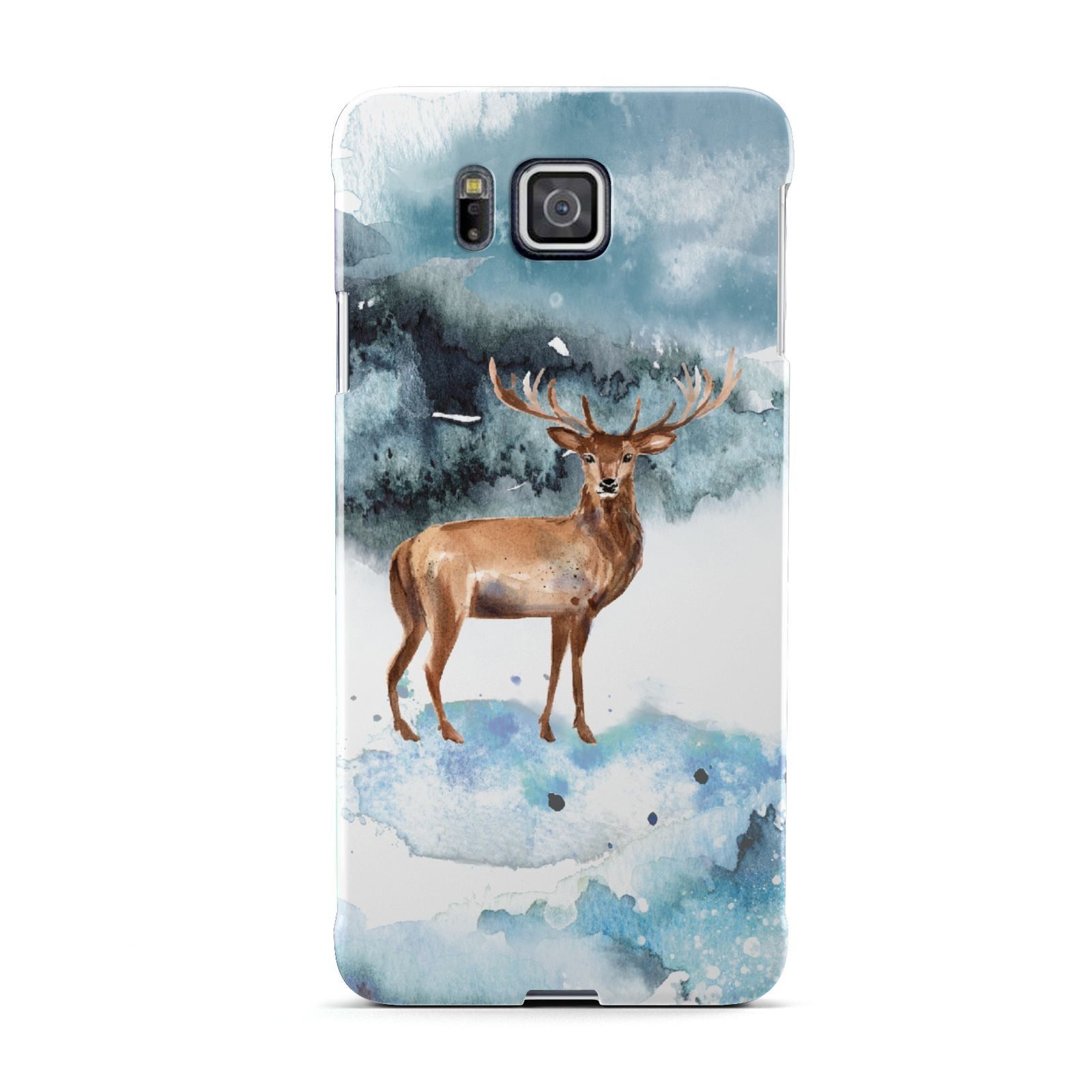Christmas Winter Stag Samsung Galaxy Alpha Case