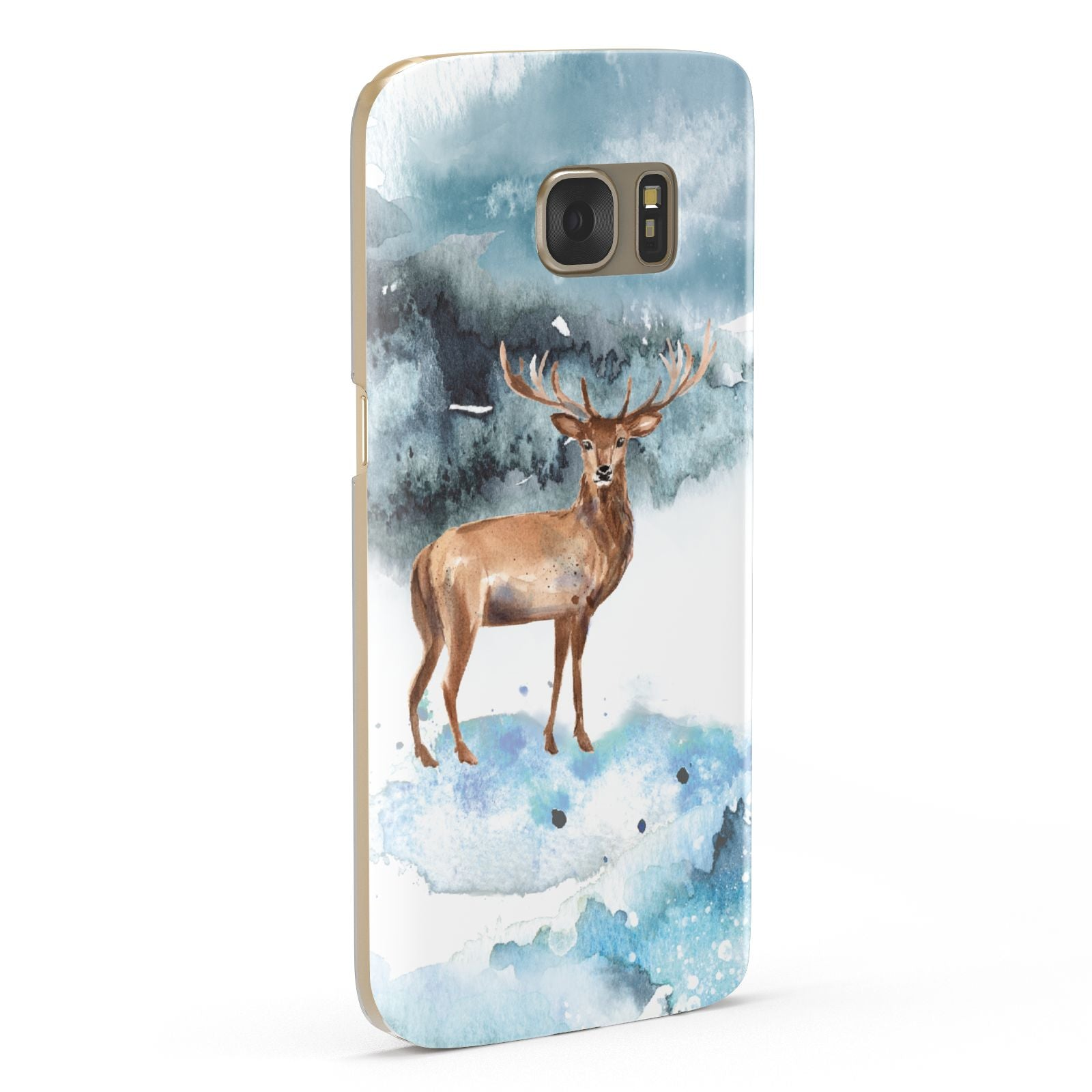 Christmas Winter Stag Samsung Galaxy Case Fourty Five Degrees