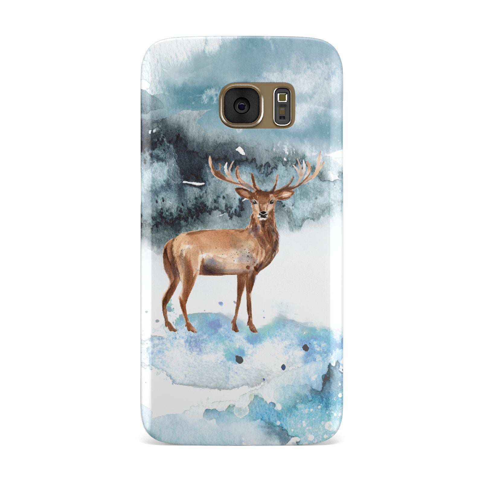 Christmas Winter Stag Samsung Galaxy Case