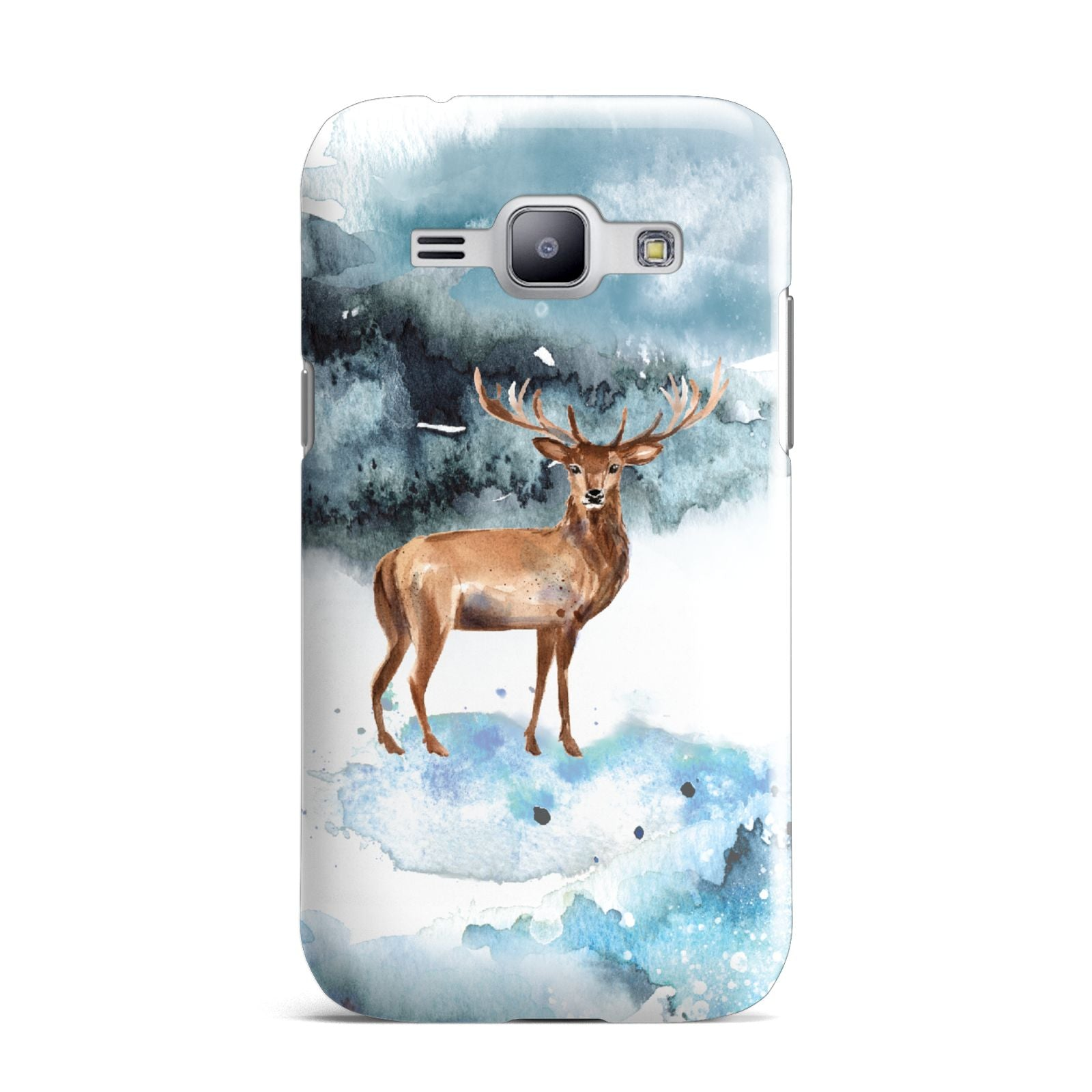 Christmas Winter Stag Samsung Galaxy J1 2015 Case