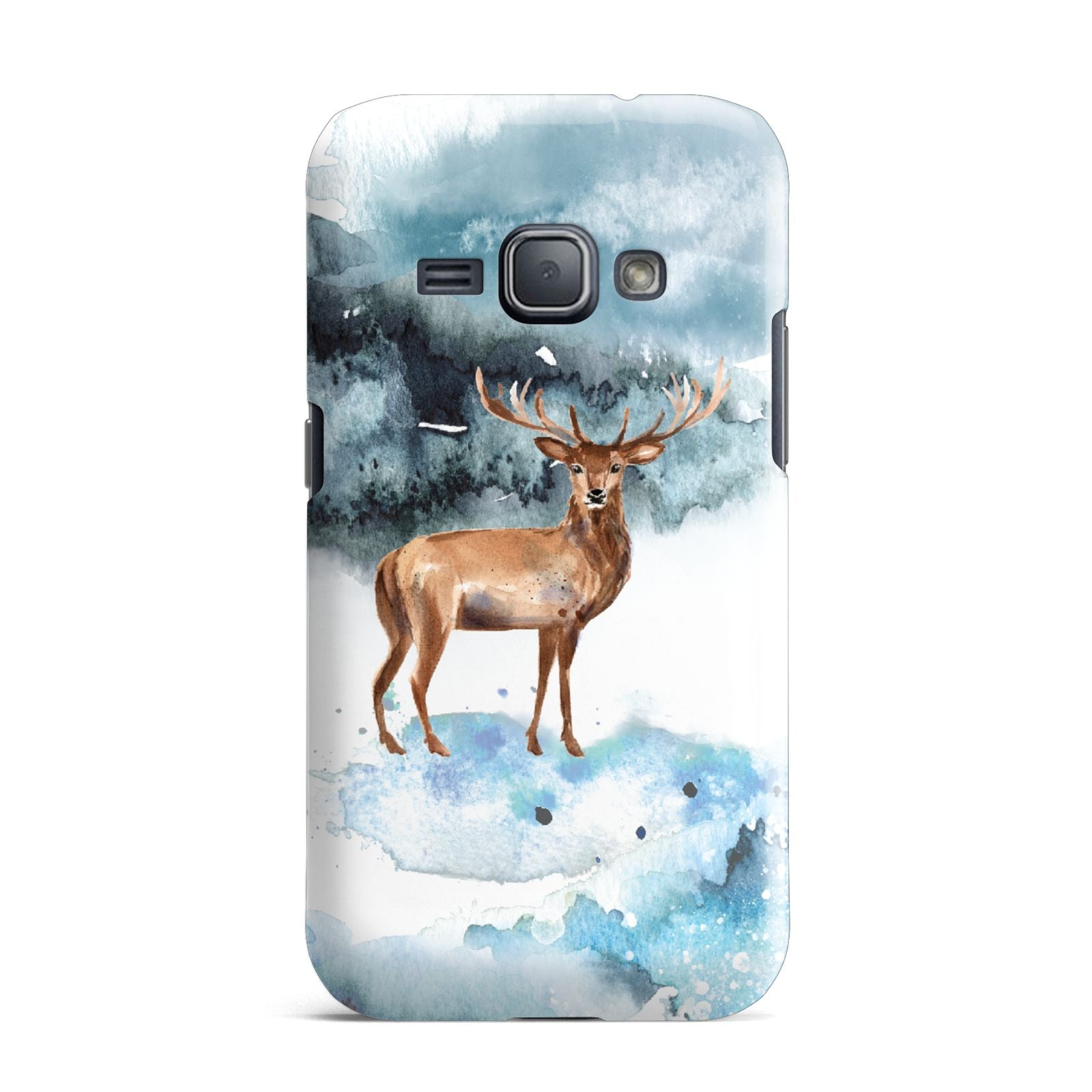 Christmas Winter Stag Samsung Galaxy J1 2016 Case
