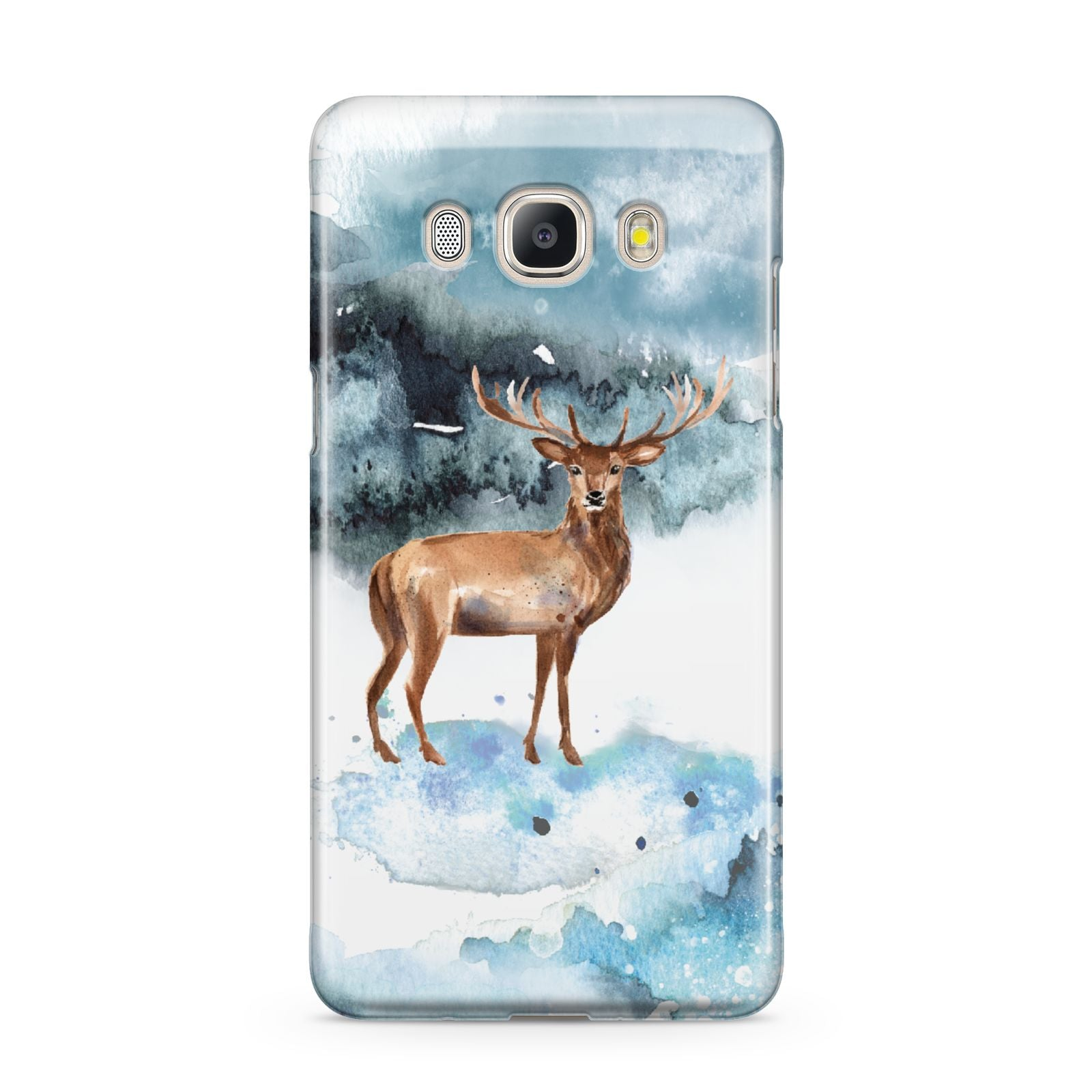 Christmas Winter Stag Samsung Galaxy J5 2016 Case