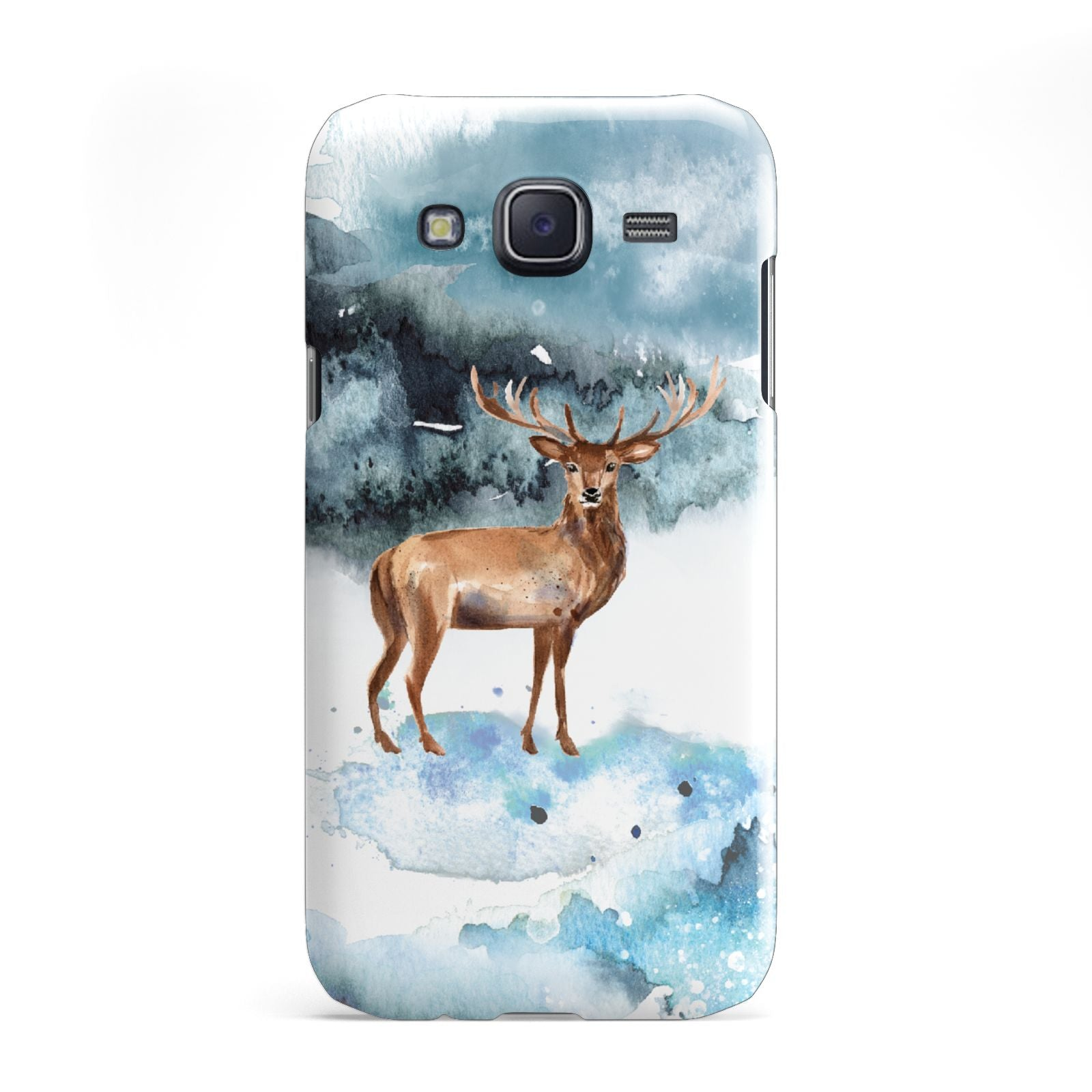 Christmas Winter Stag Samsung Galaxy J5 Case