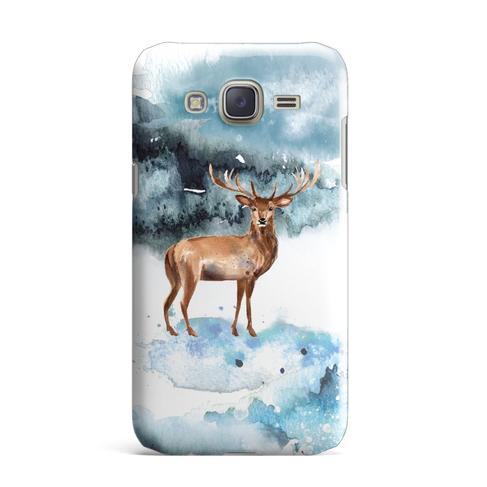 Christmas Winter Stag Samsung Galaxy J7 Case