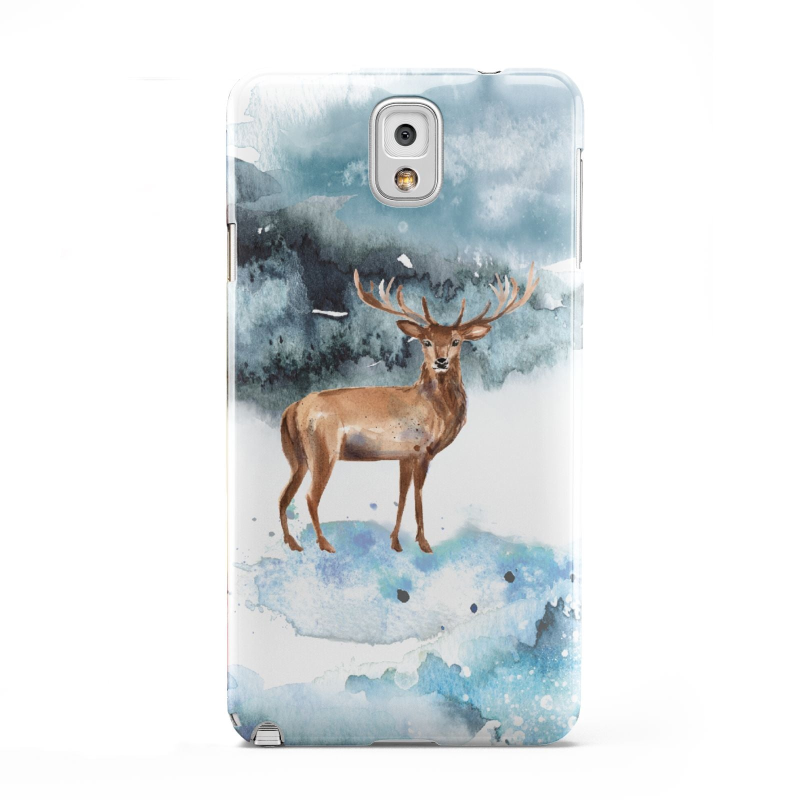 Christmas Winter Stag Samsung Galaxy Note 3 Case