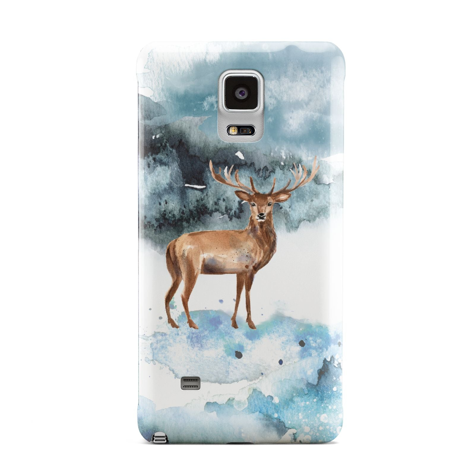 Christmas Winter Stag Samsung Galaxy Note 4 Case