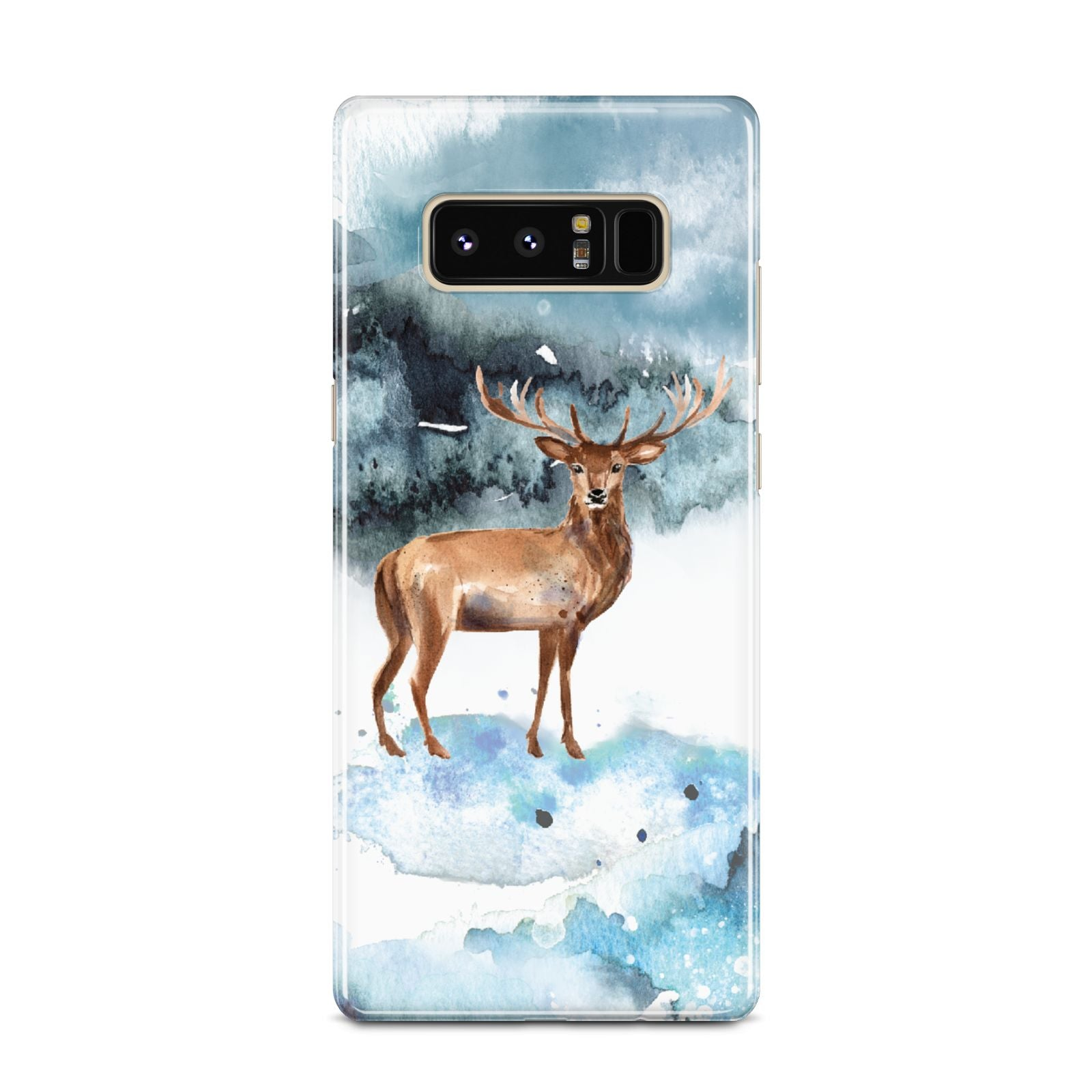 Christmas Winter Stag Samsung Galaxy Note 8 Case