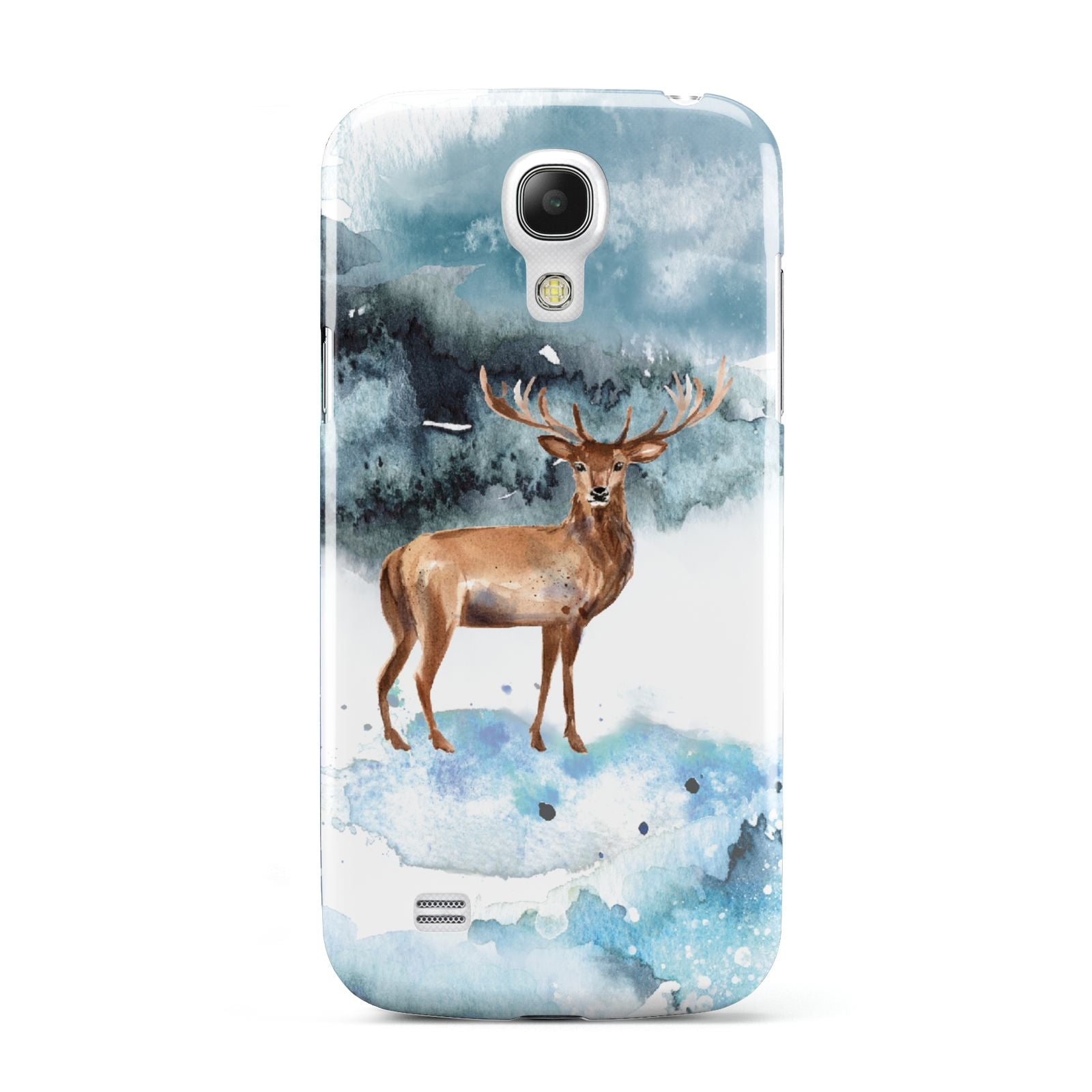 Christmas Winter Stag Samsung Galaxy S4 Mini Case
