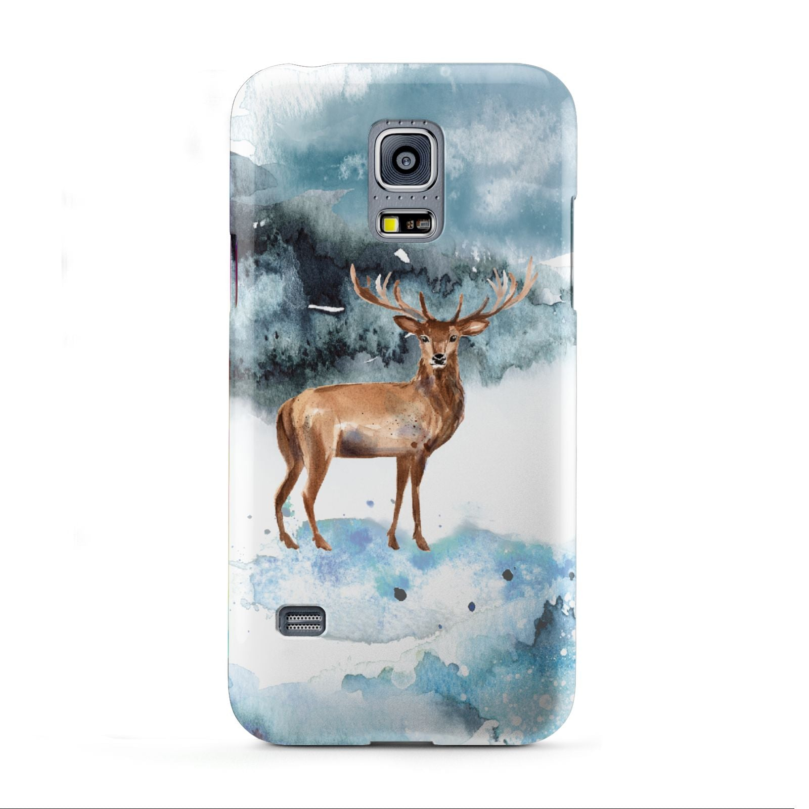 Christmas Winter Stag Samsung Galaxy S5 Mini Case