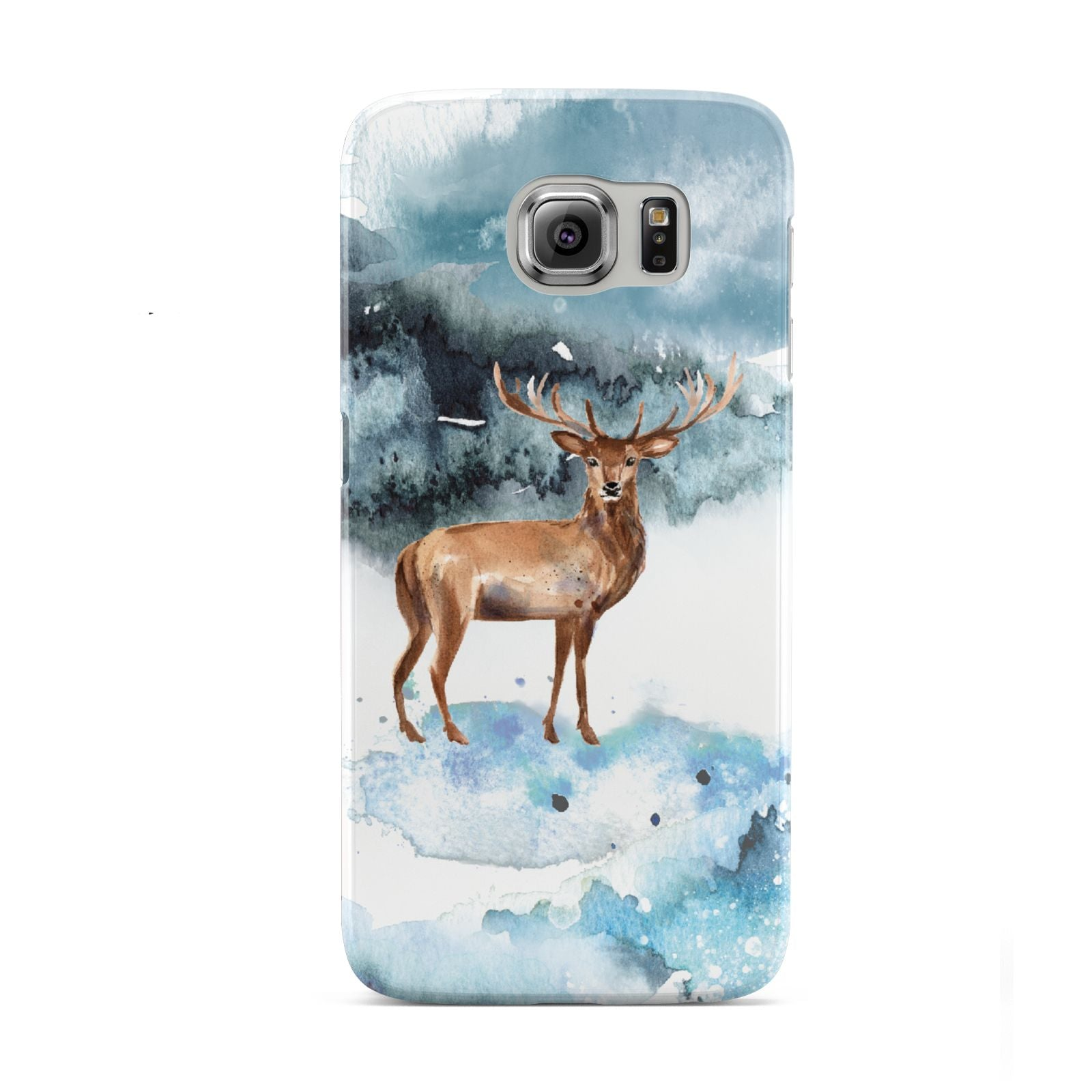 Christmas Winter Stag Samsung Galaxy S6 Case