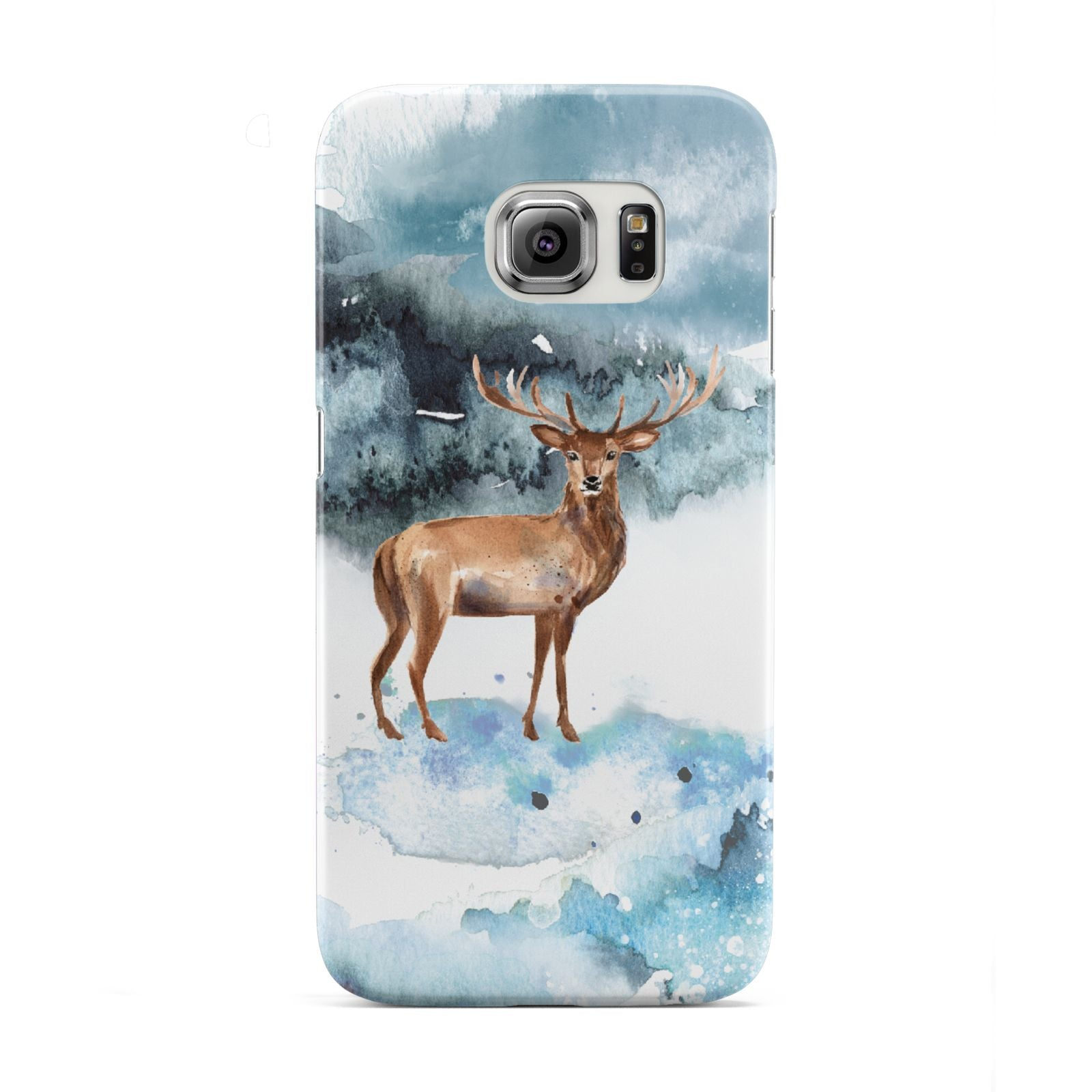 Christmas Winter Stag Samsung Galaxy S6 Edge Case