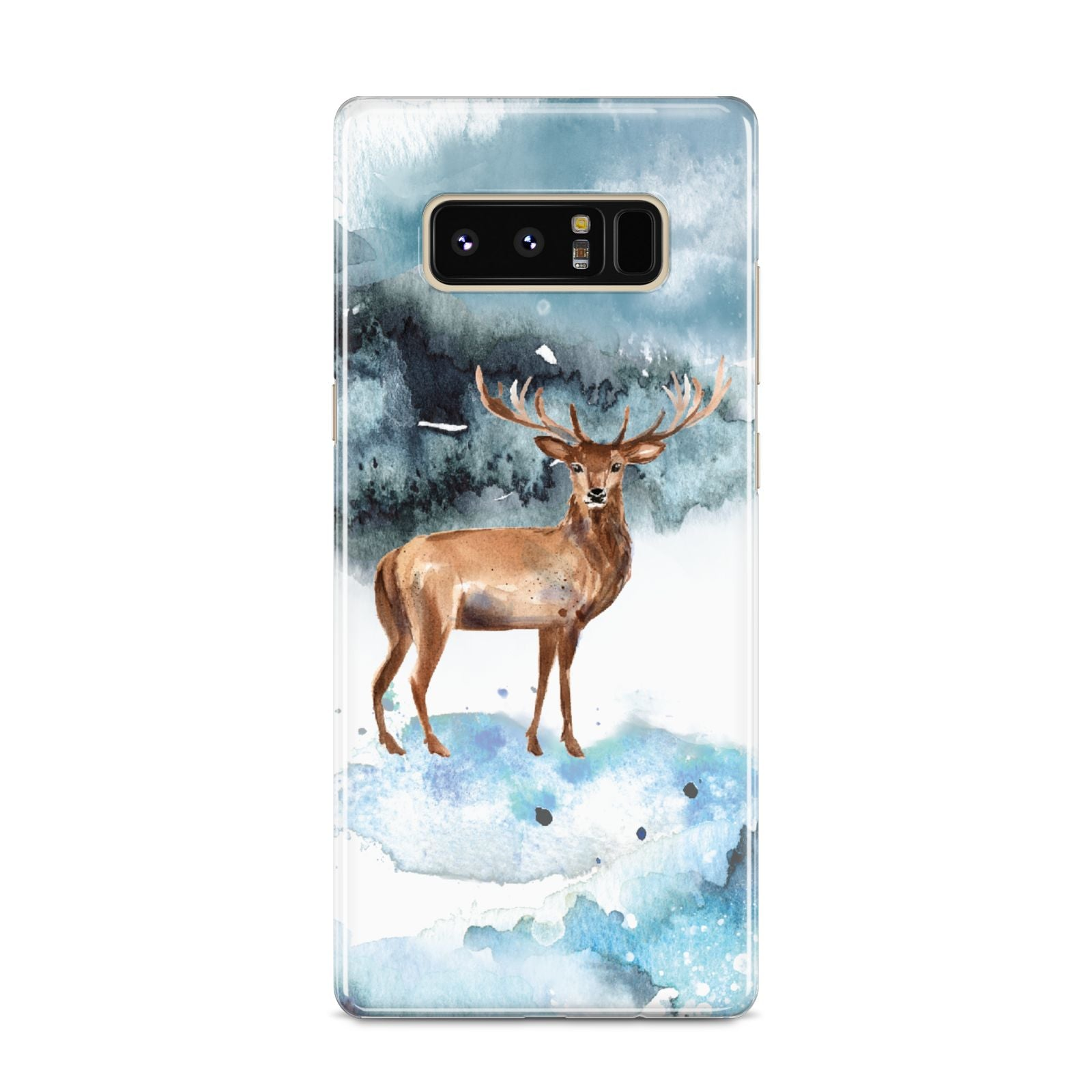 Christmas Winter Stag Samsung Galaxy S8 Case