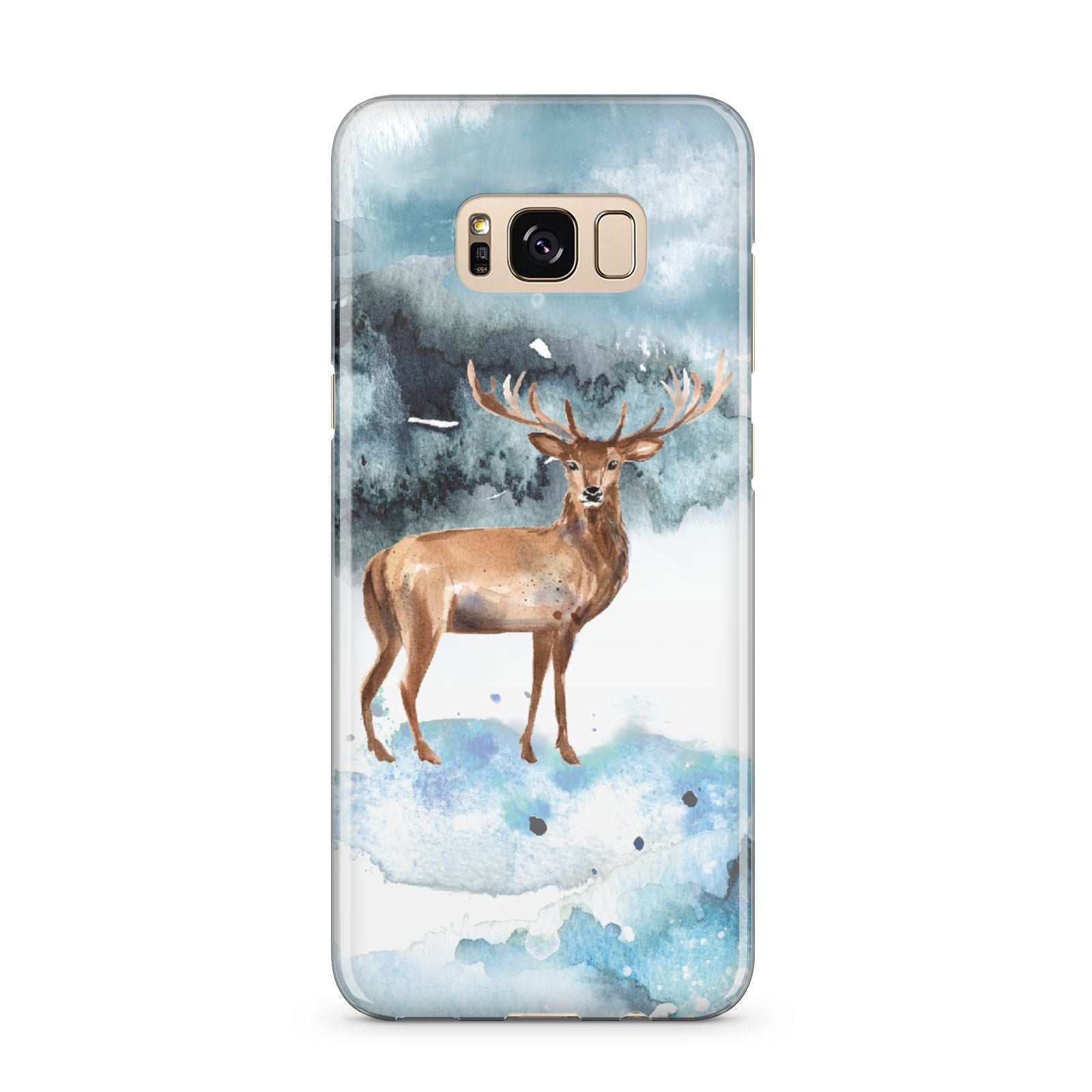 Christmas Winter Stag Samsung Galaxy S8 Plus Case