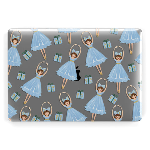 Christmas ballerina & present Macbook Case