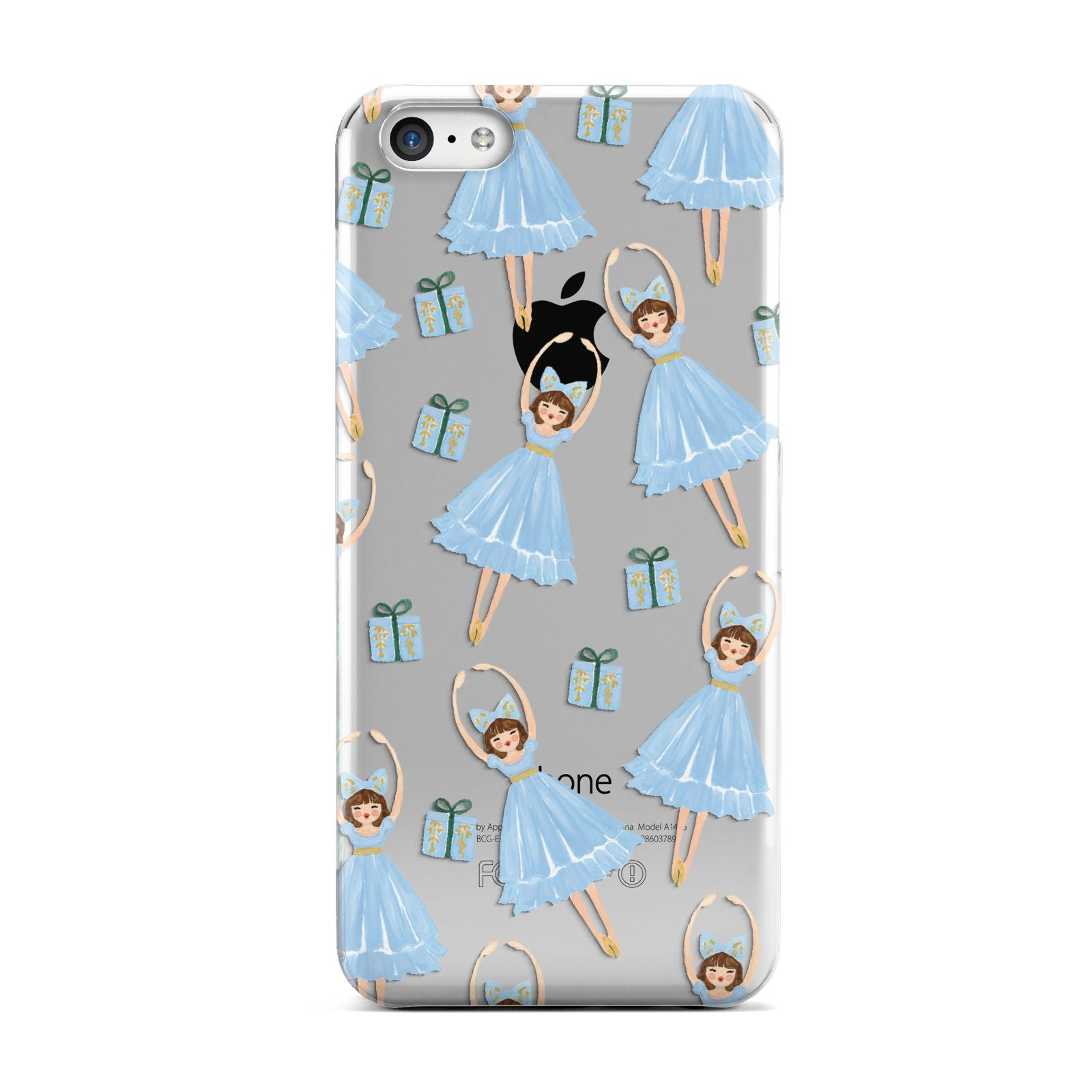 Christmas ballerina present Apple iPhone 5c Case