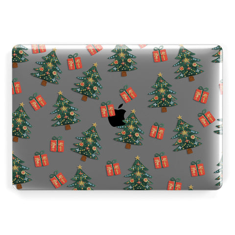 Christmas tree and presents Macbook Case