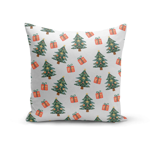 Christmas tree and presents Cushion