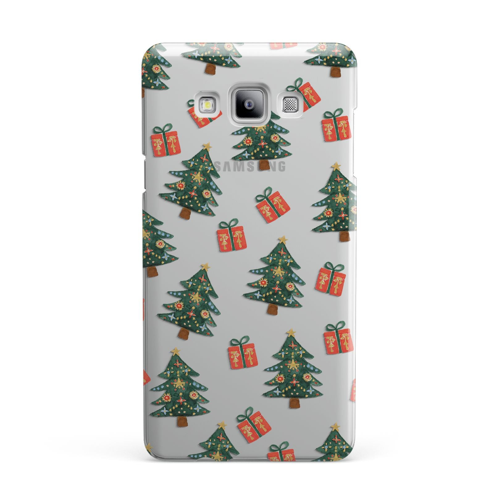 Christmas tree and presents Samsung Galaxy A7 2015 Case