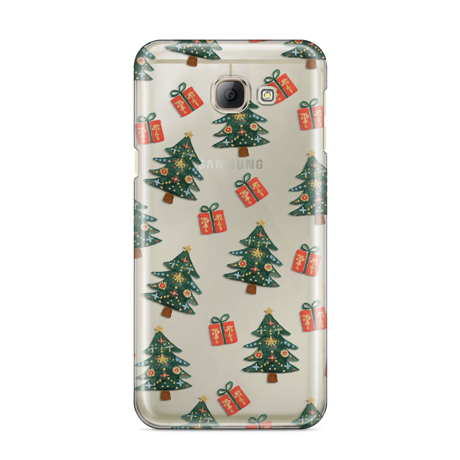 Christmas tree and presents Samsung Galaxy A8 2016 Case