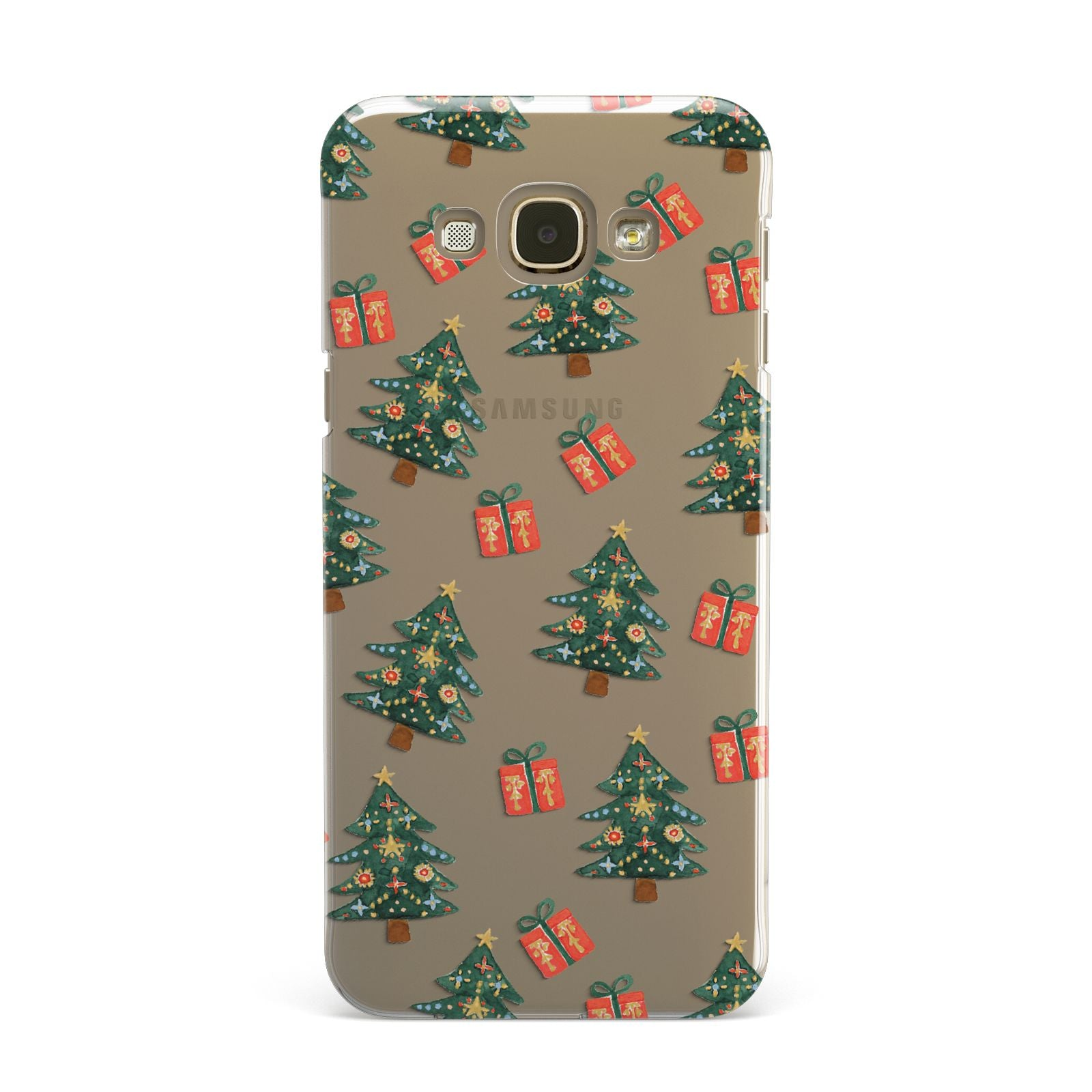 Christmas tree and presents Samsung Galaxy A8 Case