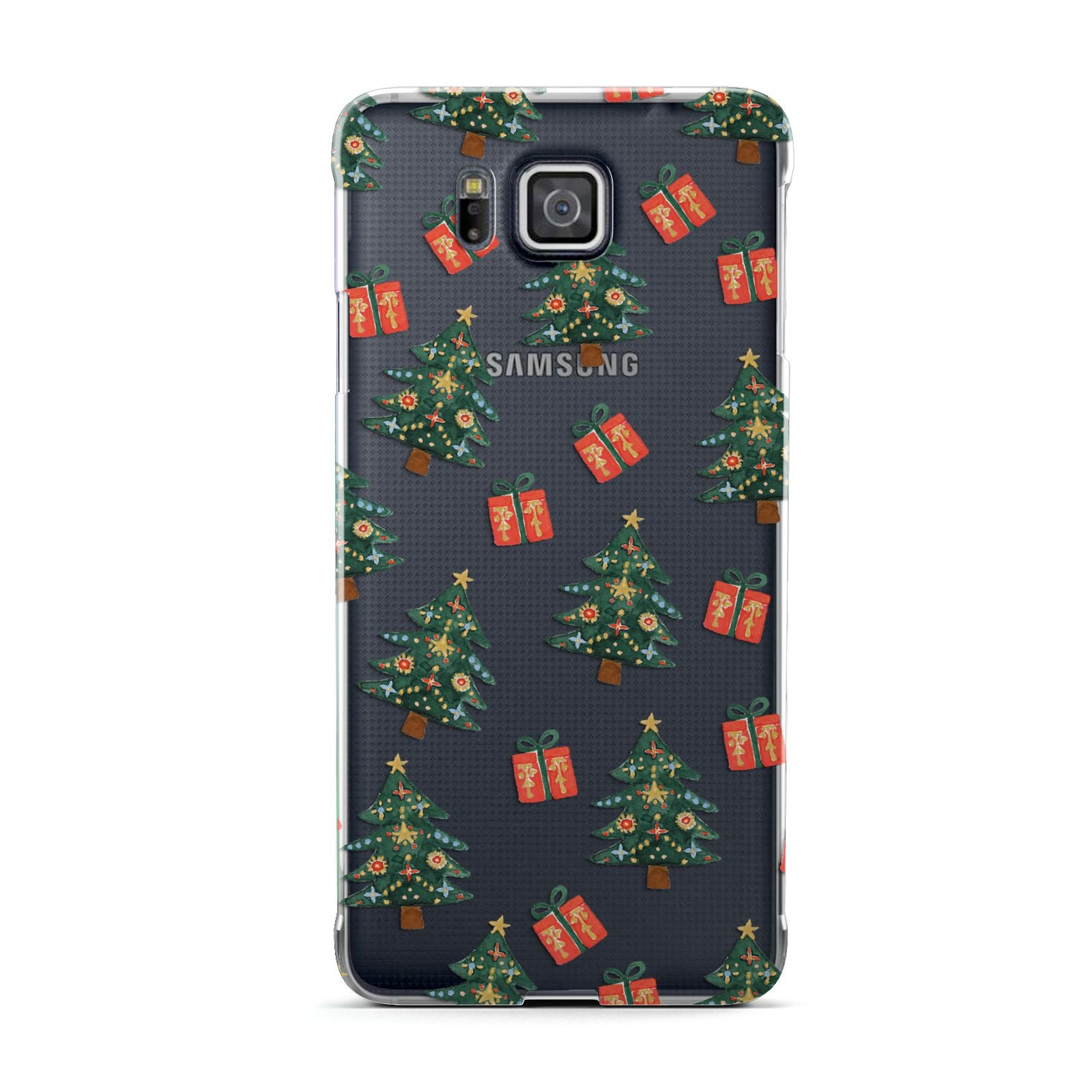 Christmas tree and presents Samsung Galaxy Alpha Case