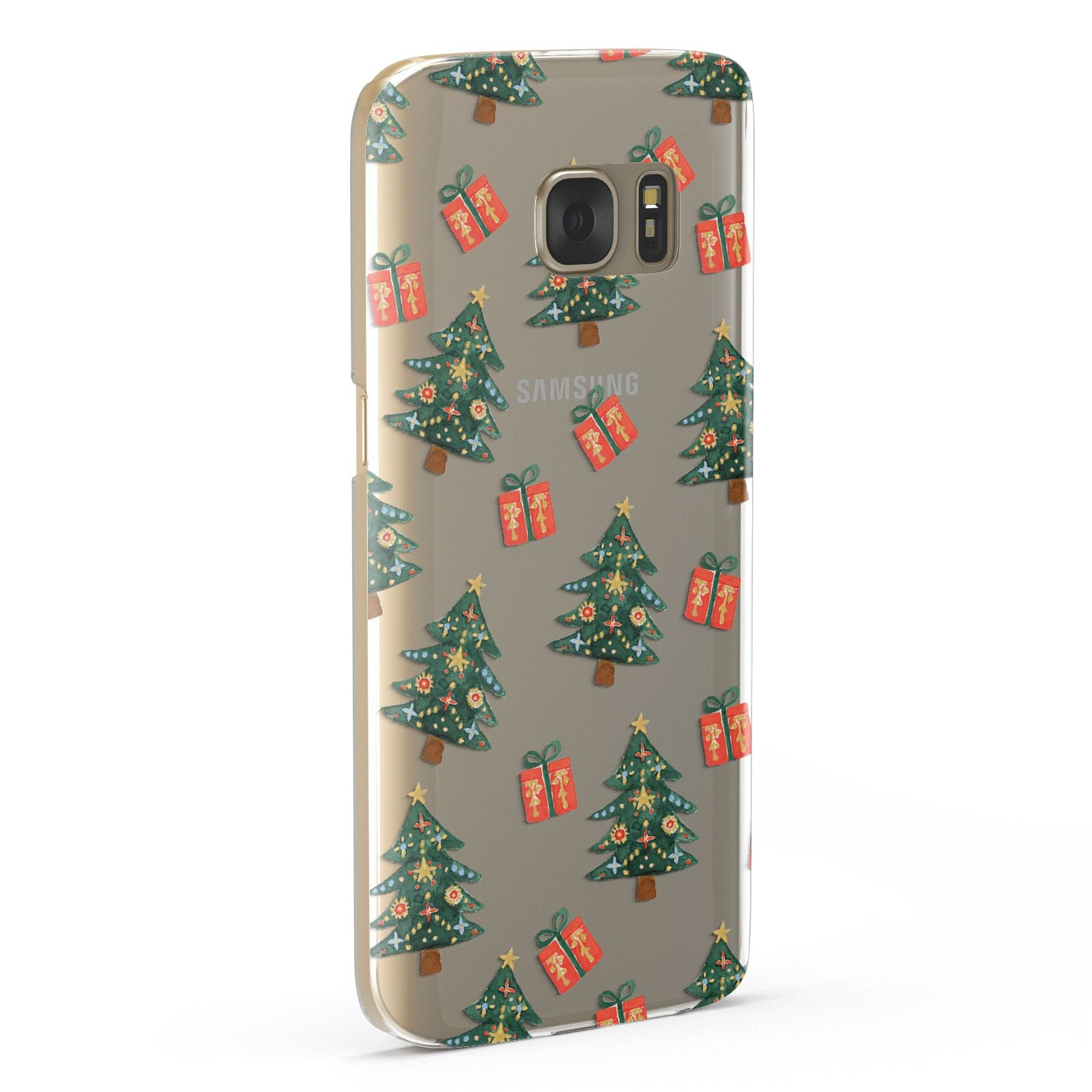 Christmas tree and presents Samsung Galaxy Case Fourty Five Degrees