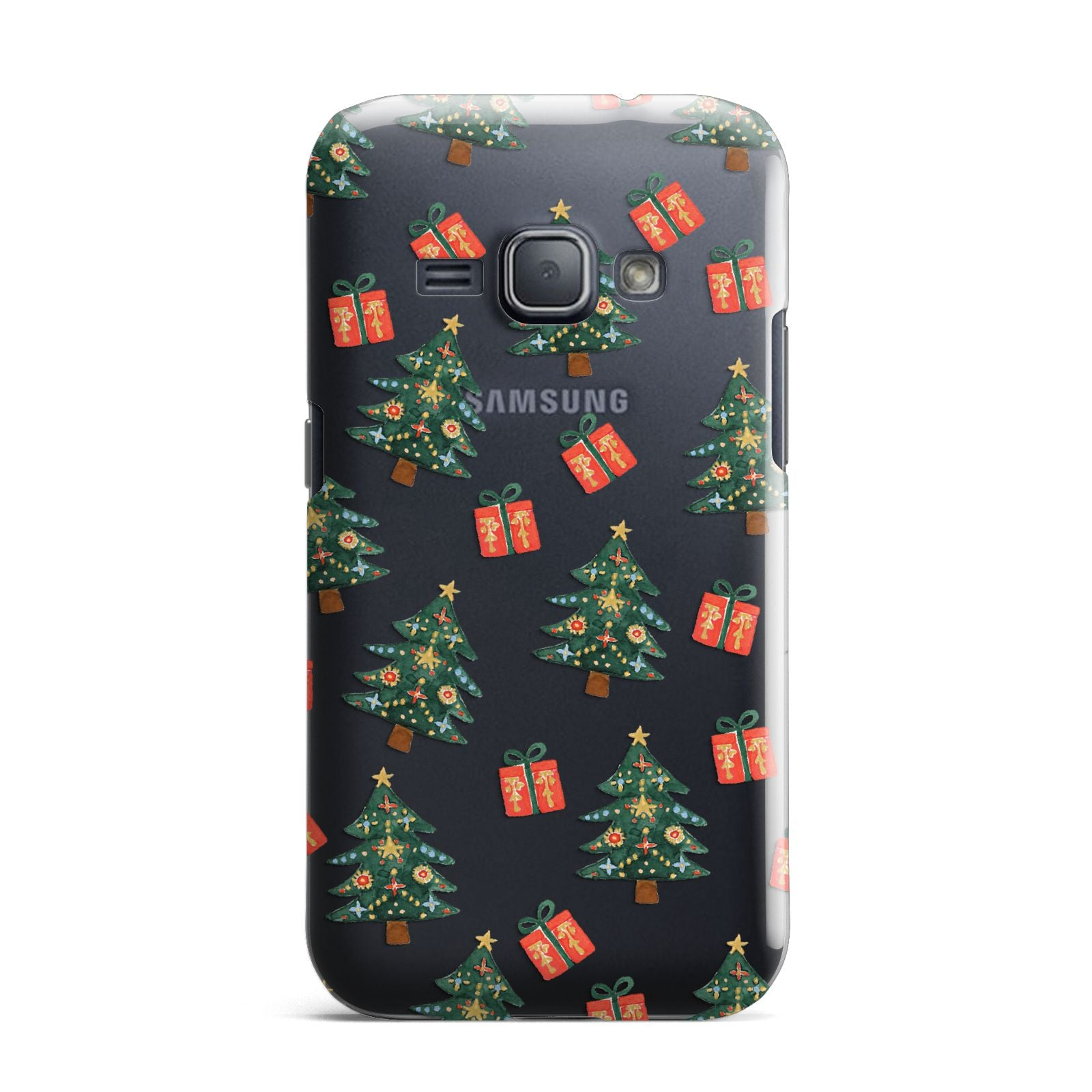 Christmas tree and presents Samsung Galaxy J1 2016 Case