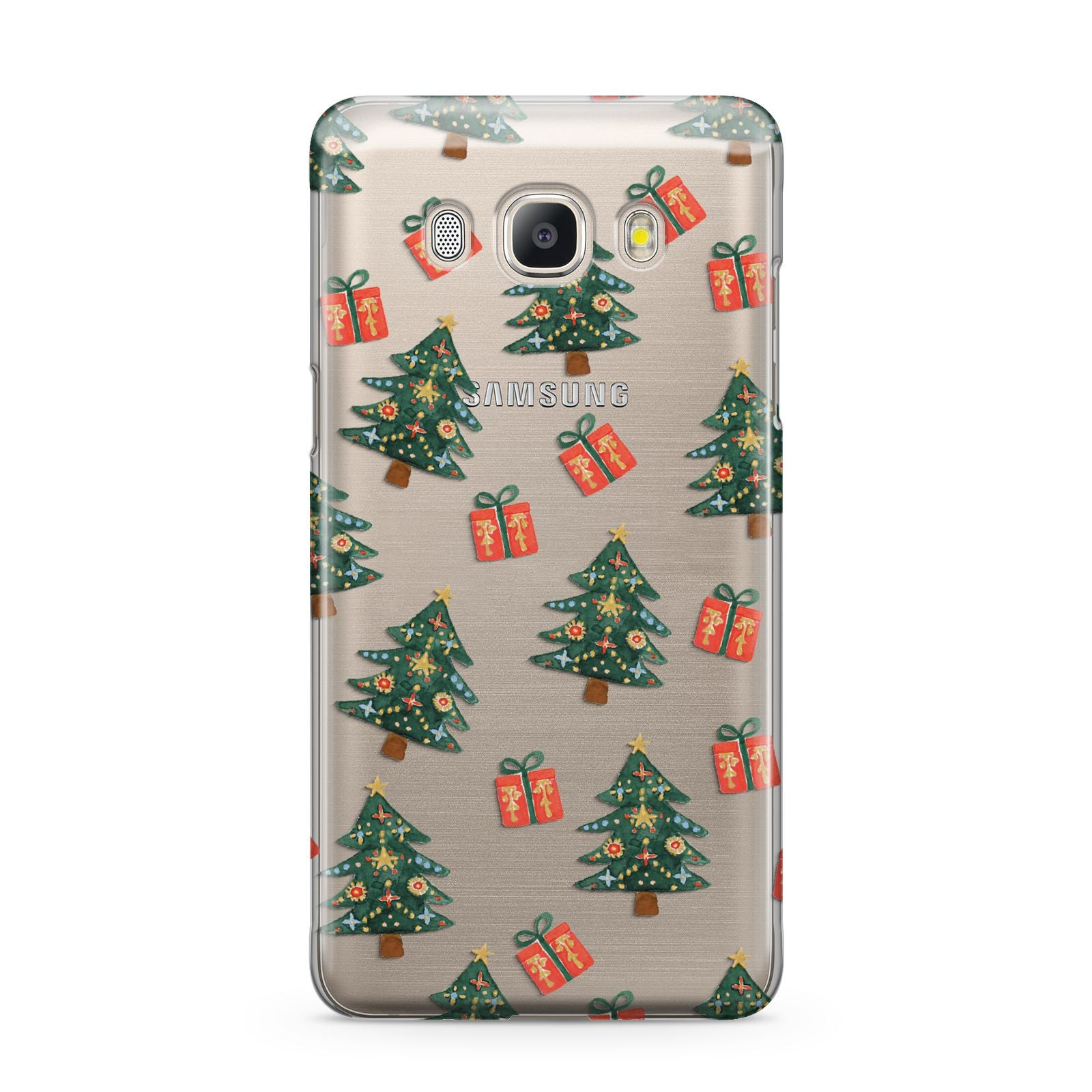 Christmas tree and presents Samsung Galaxy J5 2016 Case
