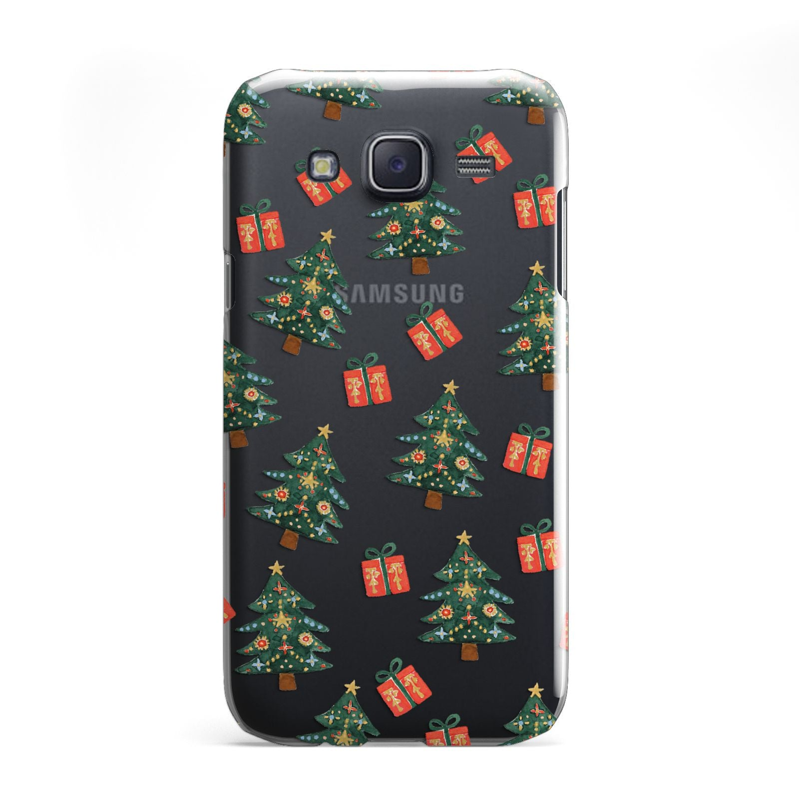 Christmas tree and presents Samsung Galaxy J5 Case