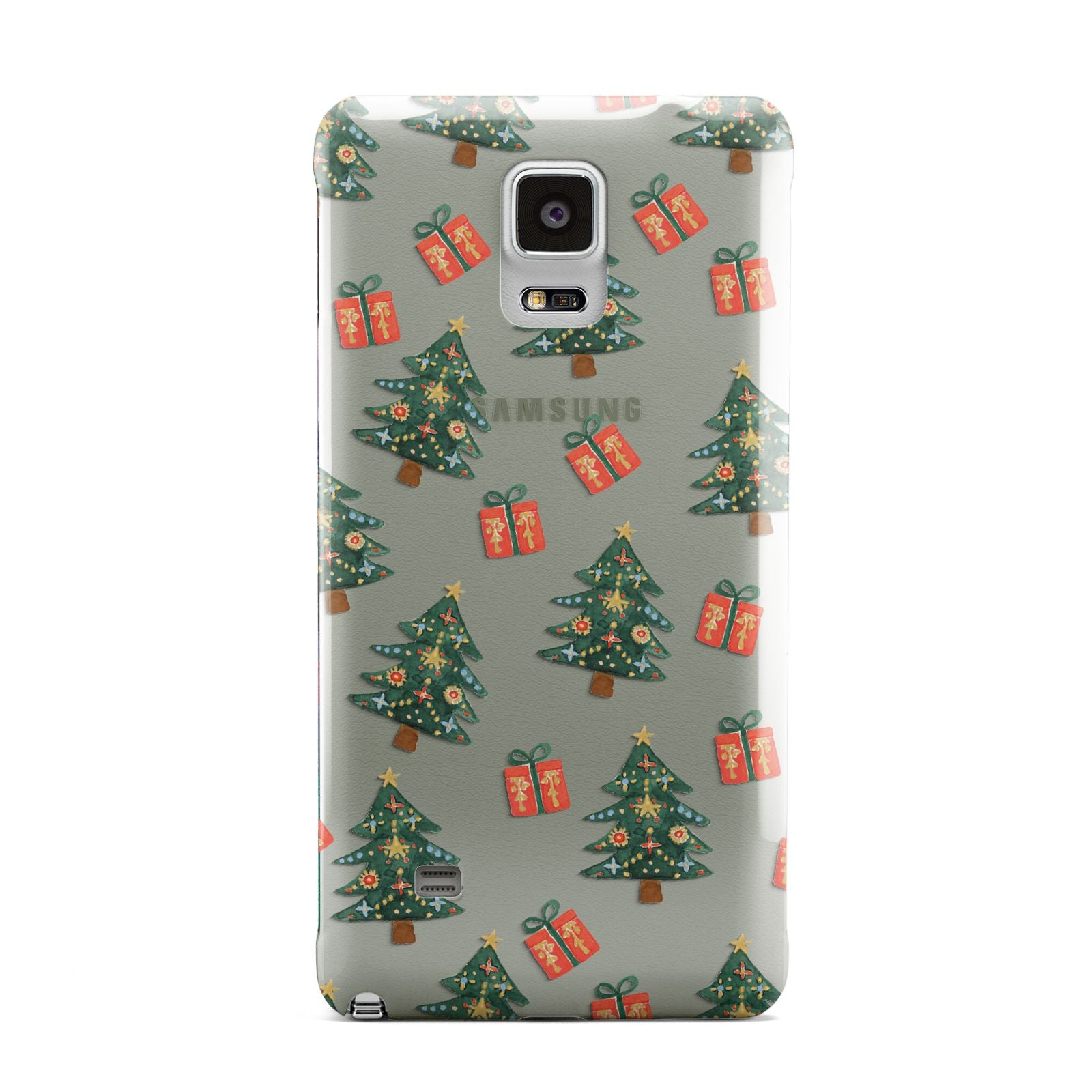 Christmas tree and presents Samsung Galaxy Note 4 Case